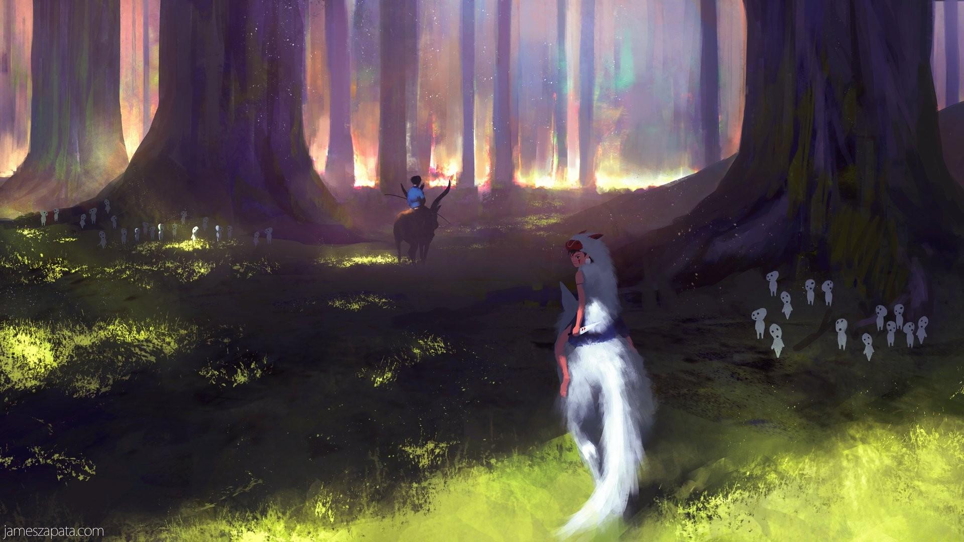 Princess Mononoke wallpaper ·① Download free beautiful ...