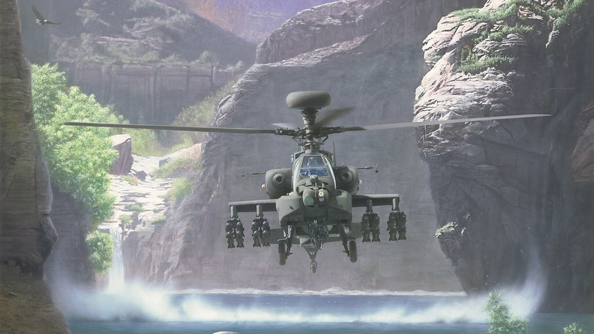 Apache Helicopter Wallpaper 1