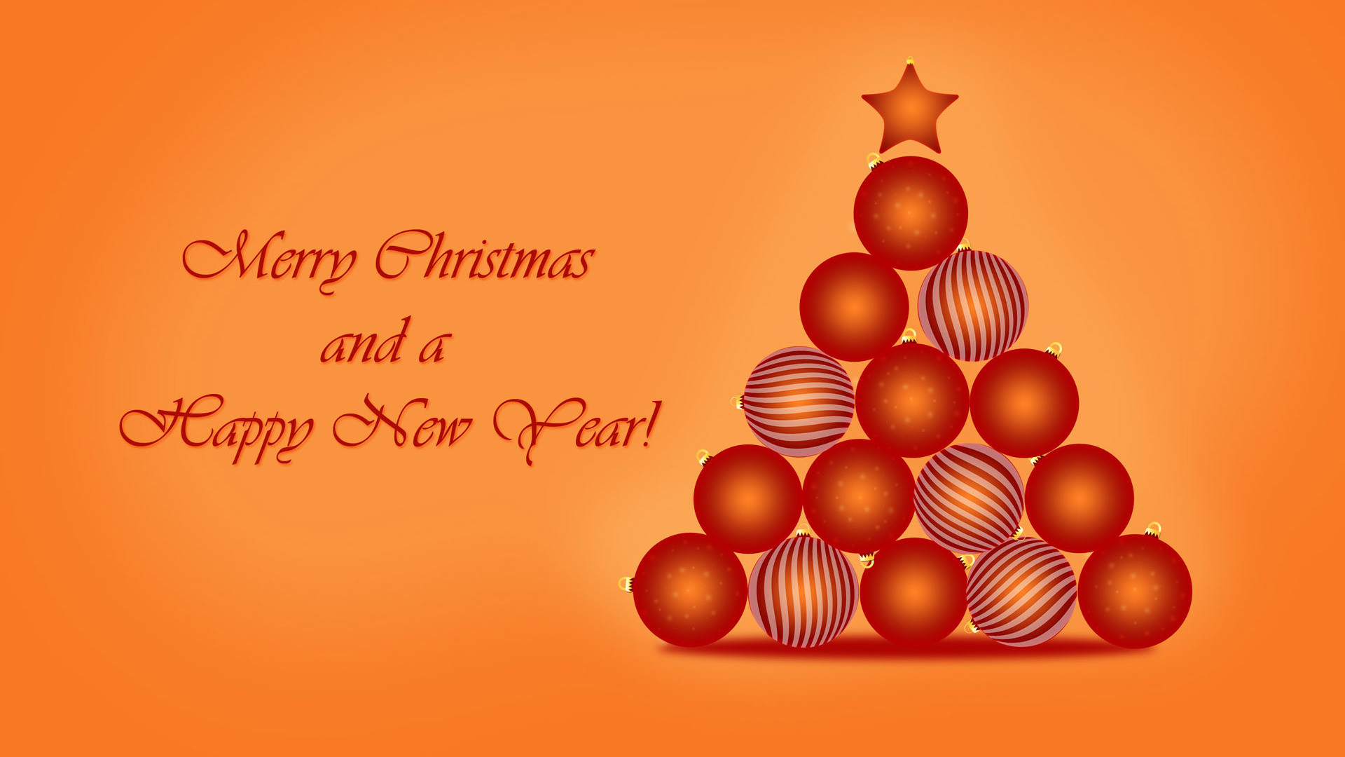 1920x1080 merry christmas and happy new year wallpaper free download