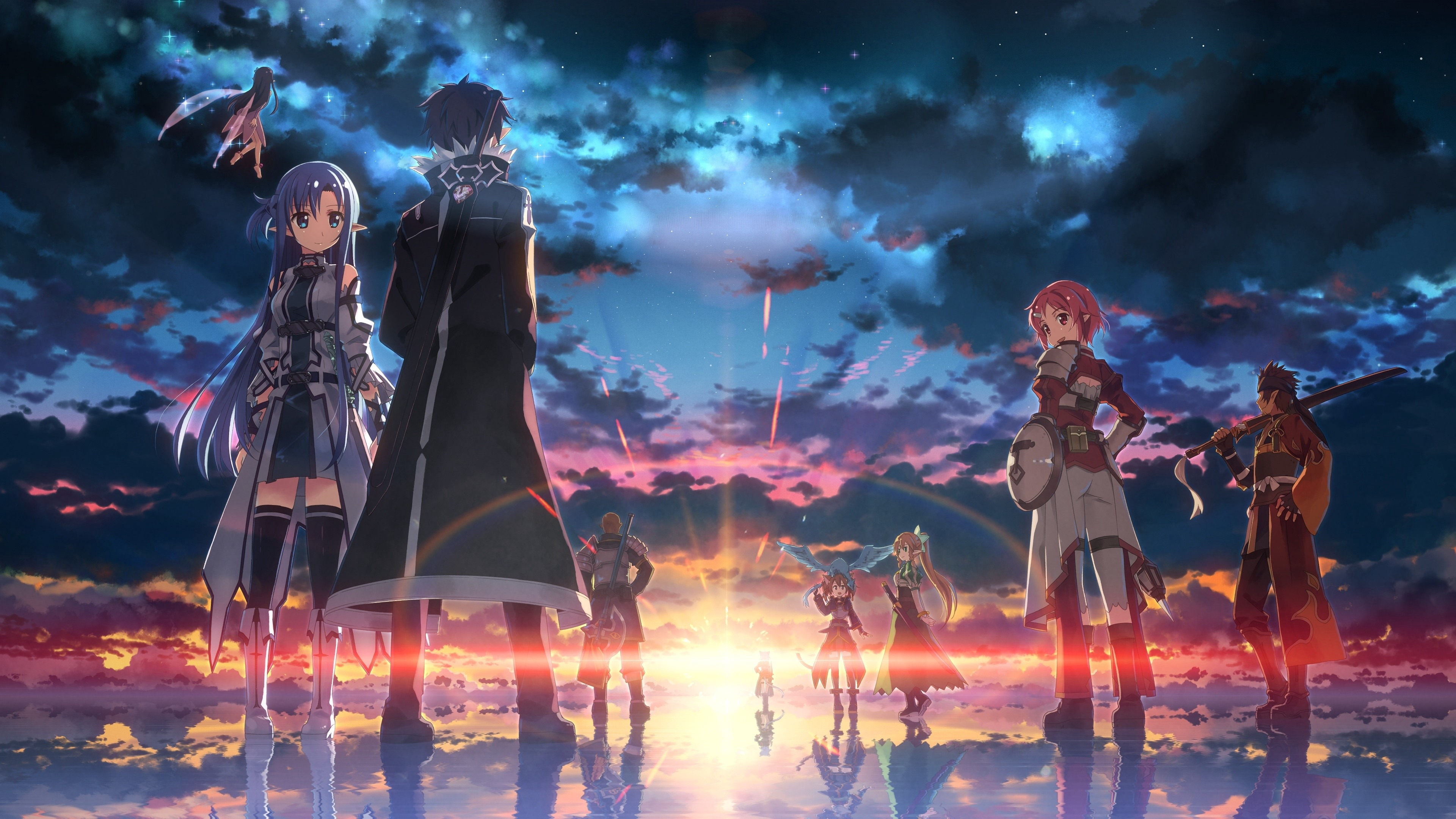 Sword Art Online Wallpapers Wallpapertag