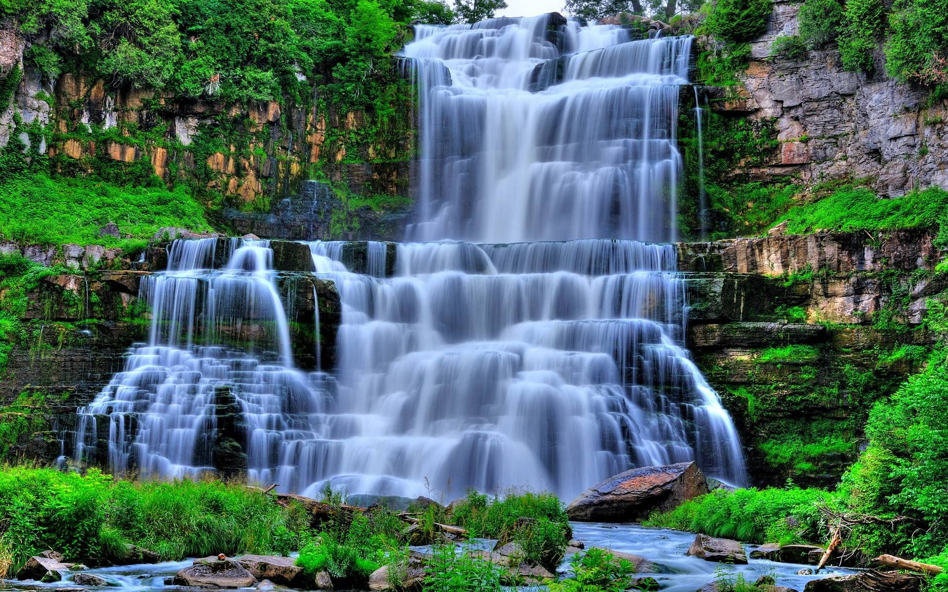 Waterfall Wallpaper 1 Download Free Beautiful Backgrounds For