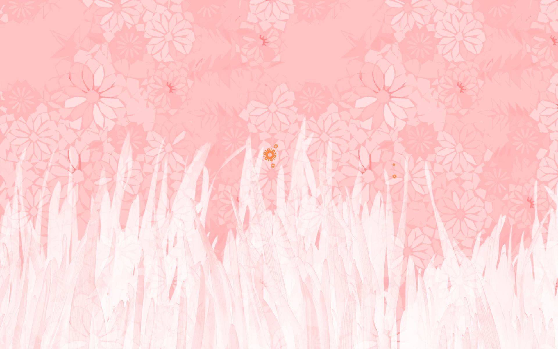 Soft Pink Wallpaper ·①