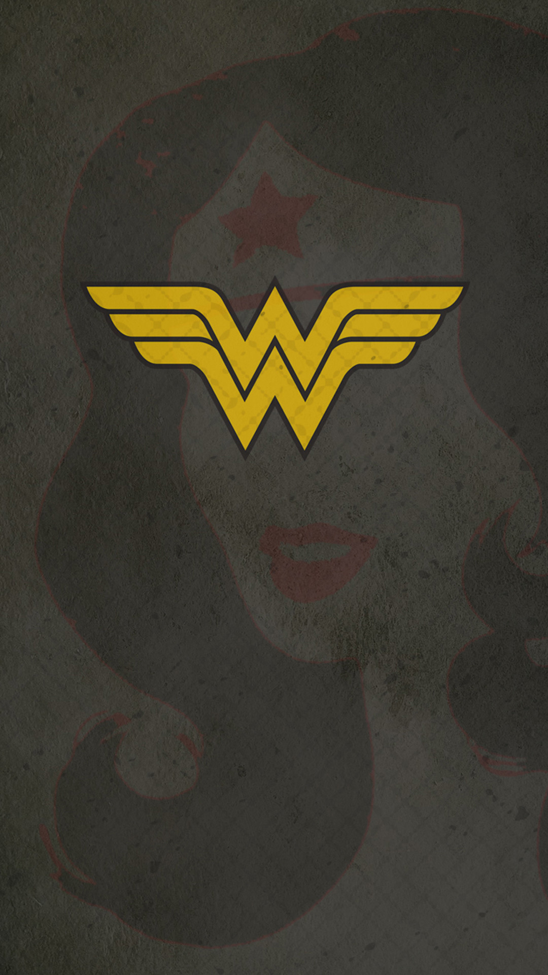 Wonder Woman Logo Wallpaper Wallpapertag