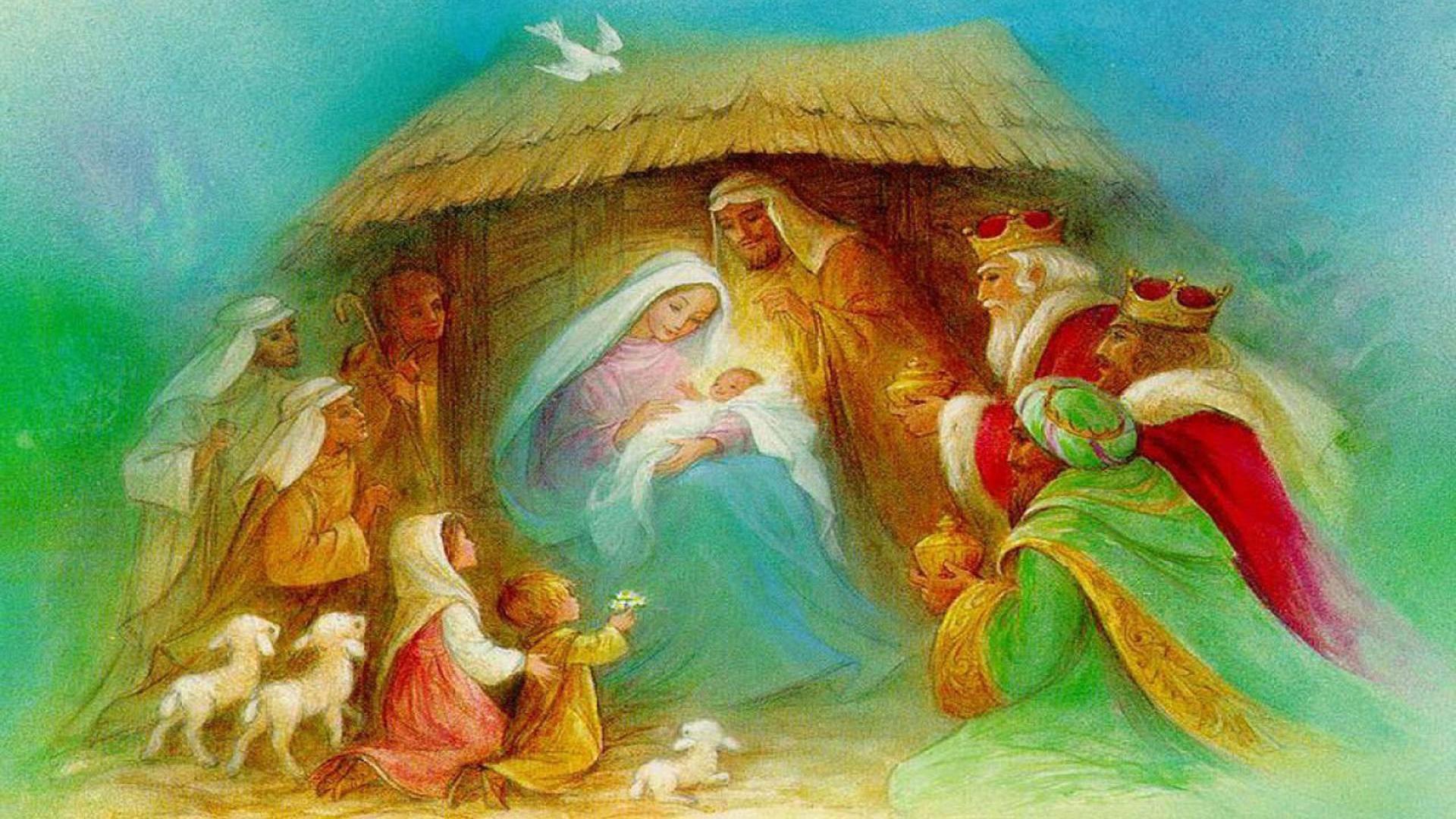 Nativity Scene Wallpaper ·① WallpaperTag