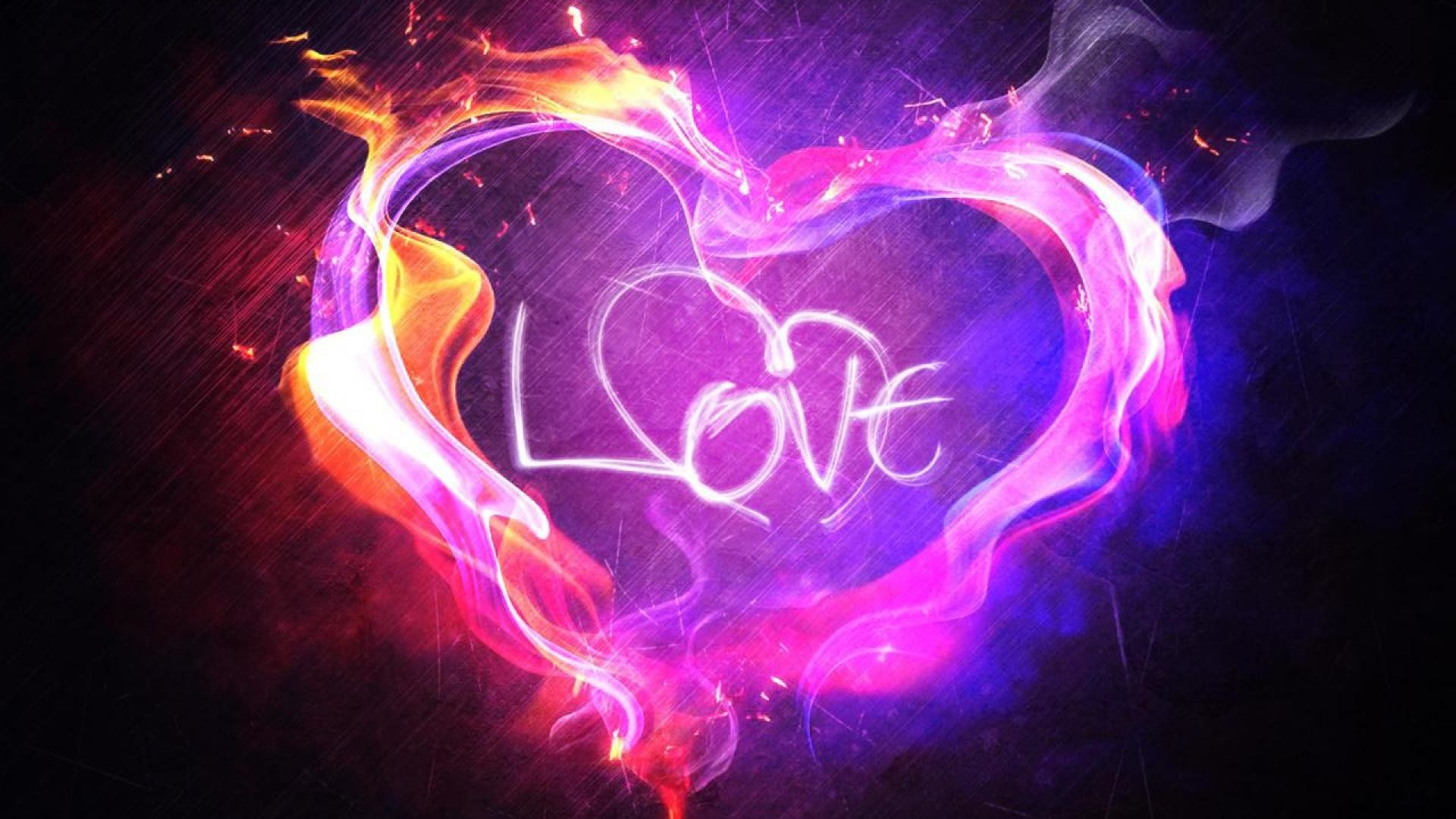 Cool heart wallpapers wallpapertag - Cool love images ...