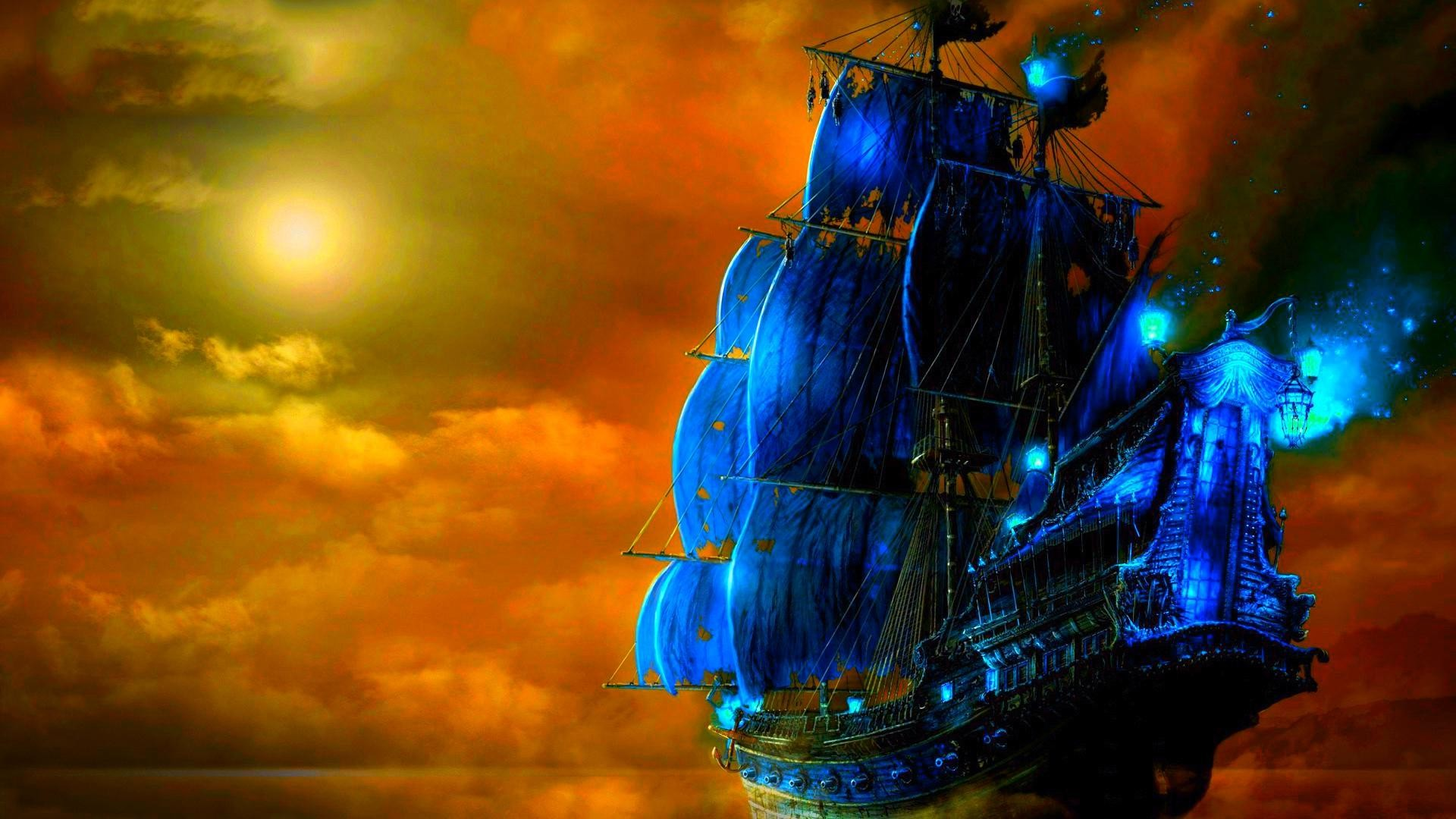 Amazing Wallpapers For Mobile Touch: Pirate Ship Wallpaper ·① Download Free High Resolution
