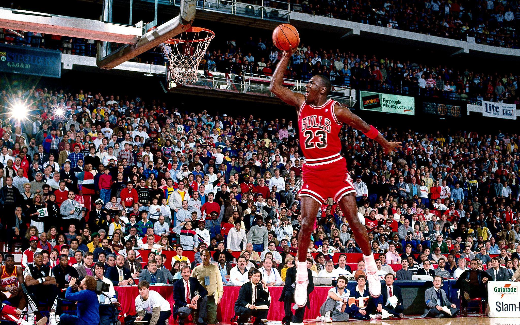 Michael Jordan Dunk Wallpaper Wallpapertag