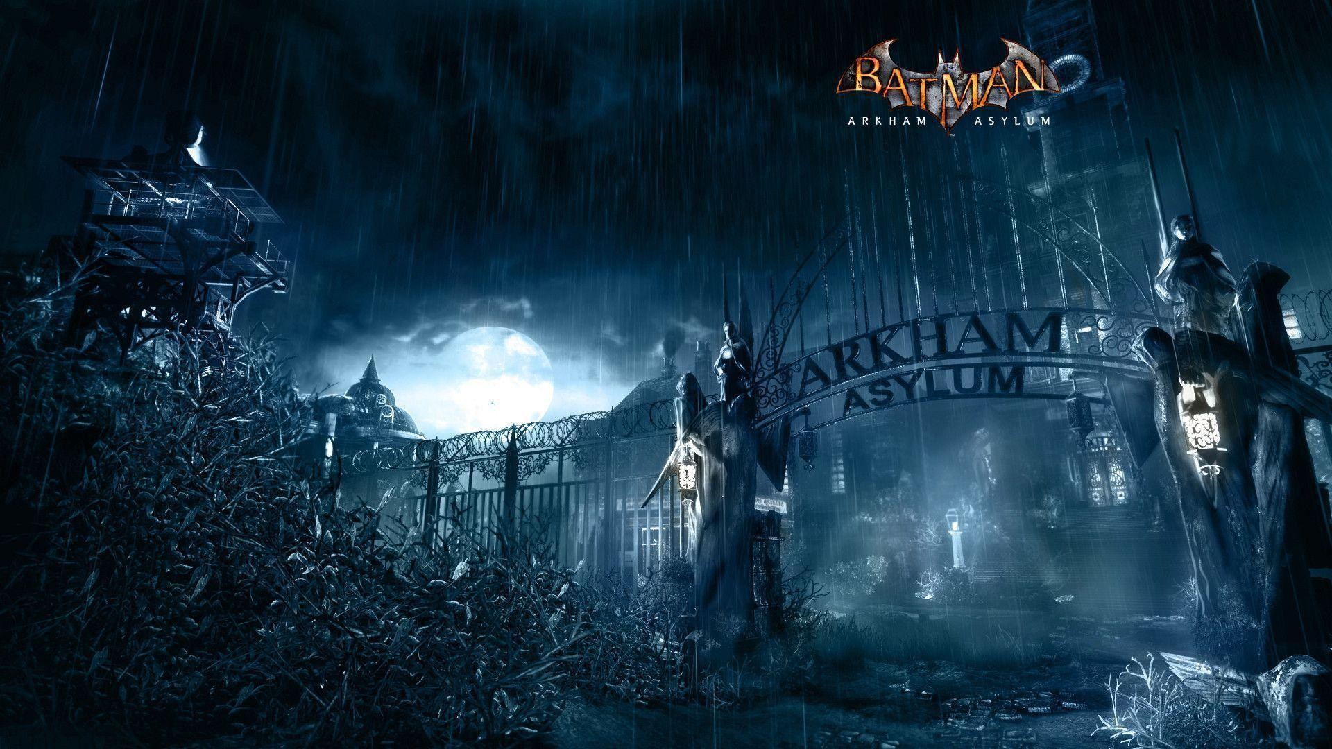 arkham asylum wallpaper ·①