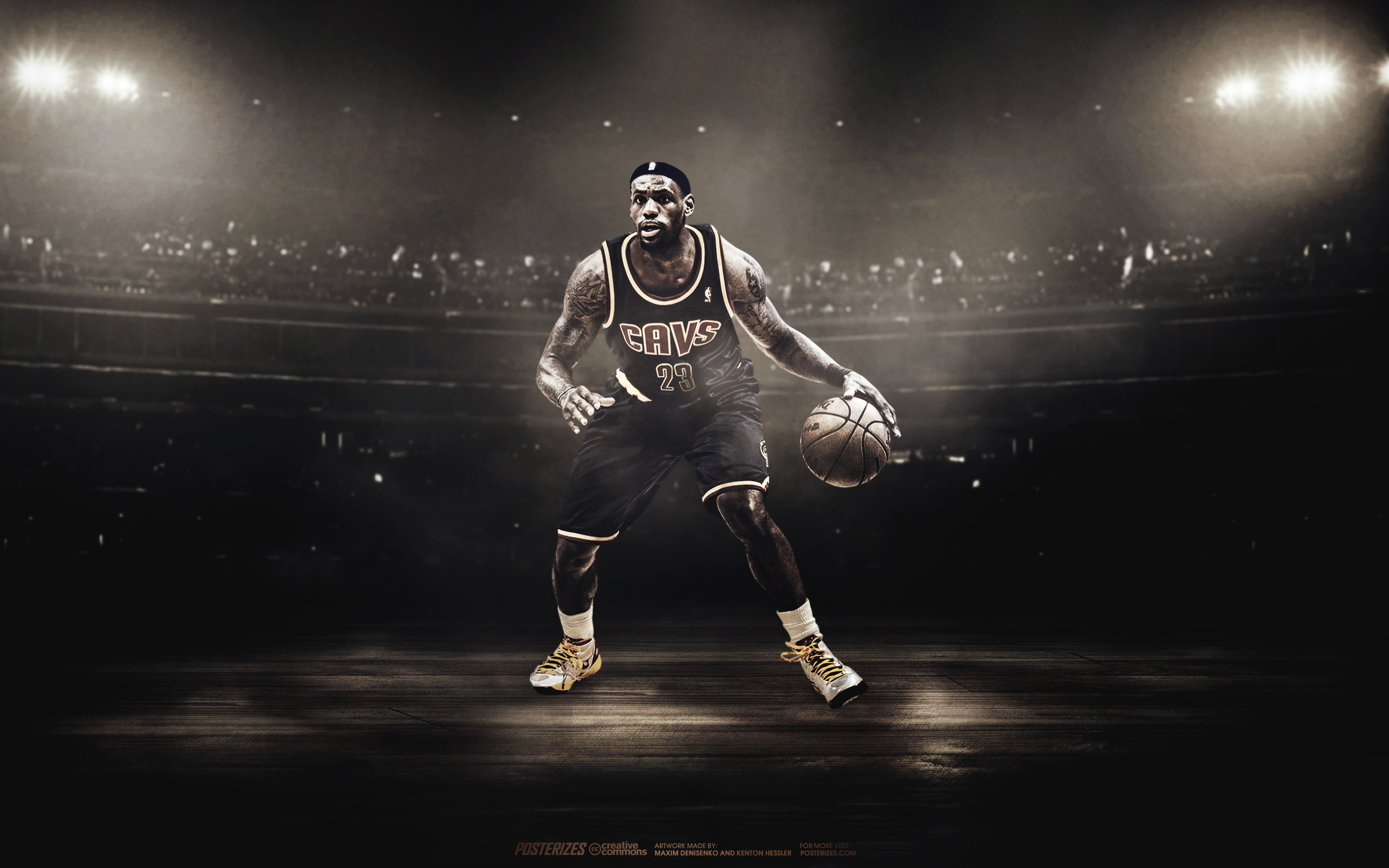 Lebron James Cleveland Powder Wallpaper Wallpapertag