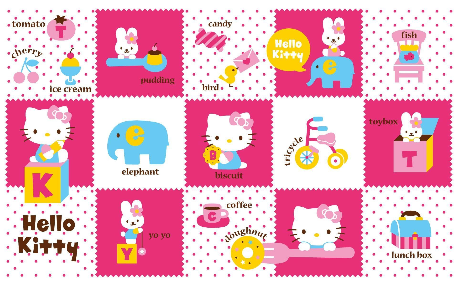 Hello Kitty Backgrounds For Laptops Wallpapertag
