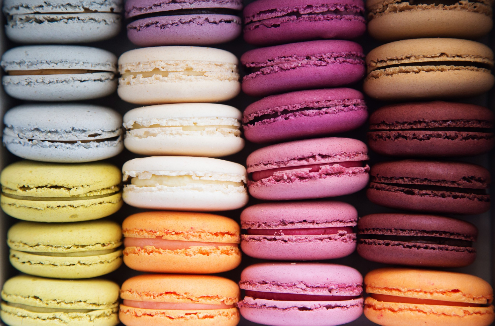French Macaroons Wallpaper