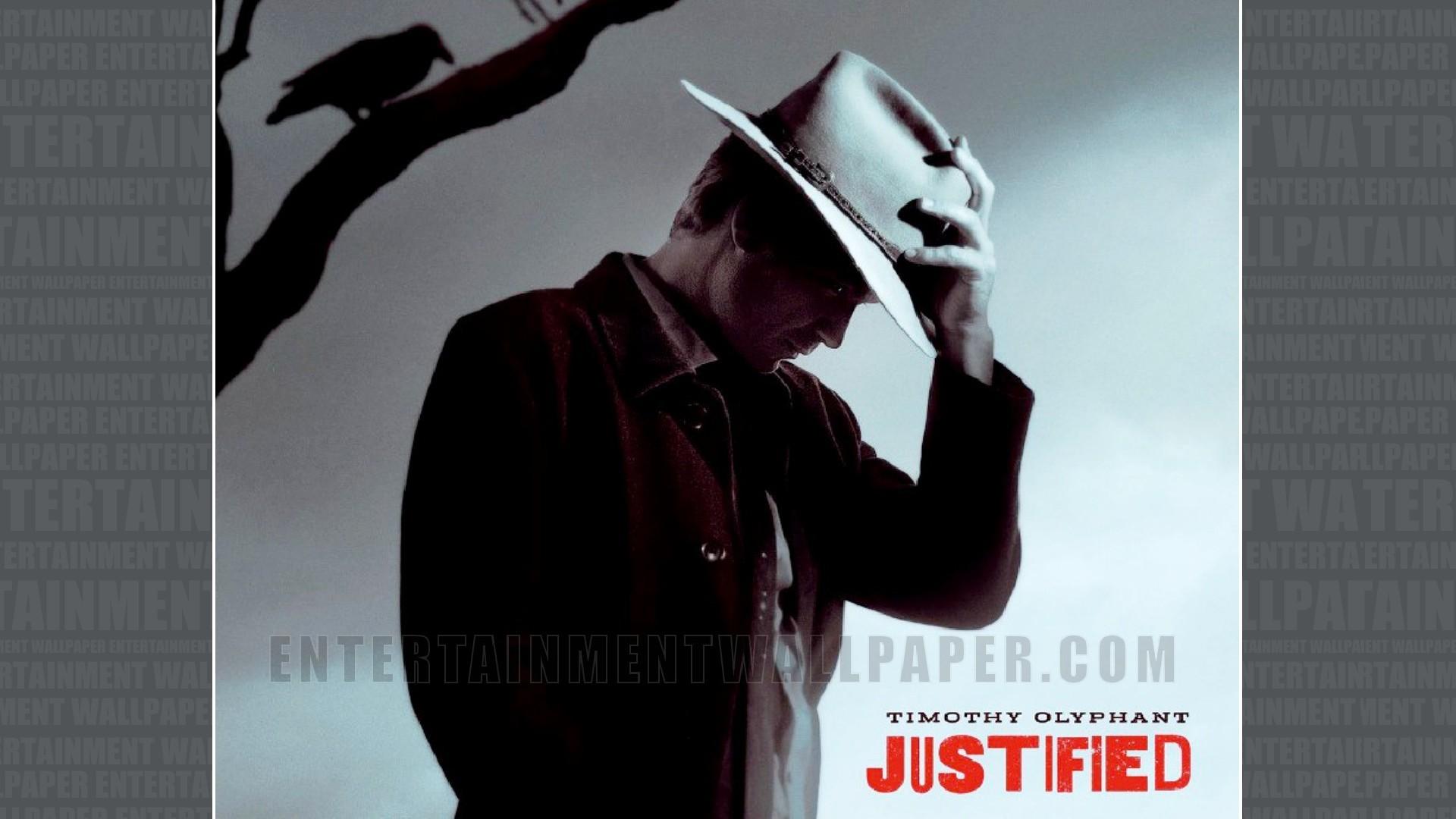 Justified Wallpaper ·①