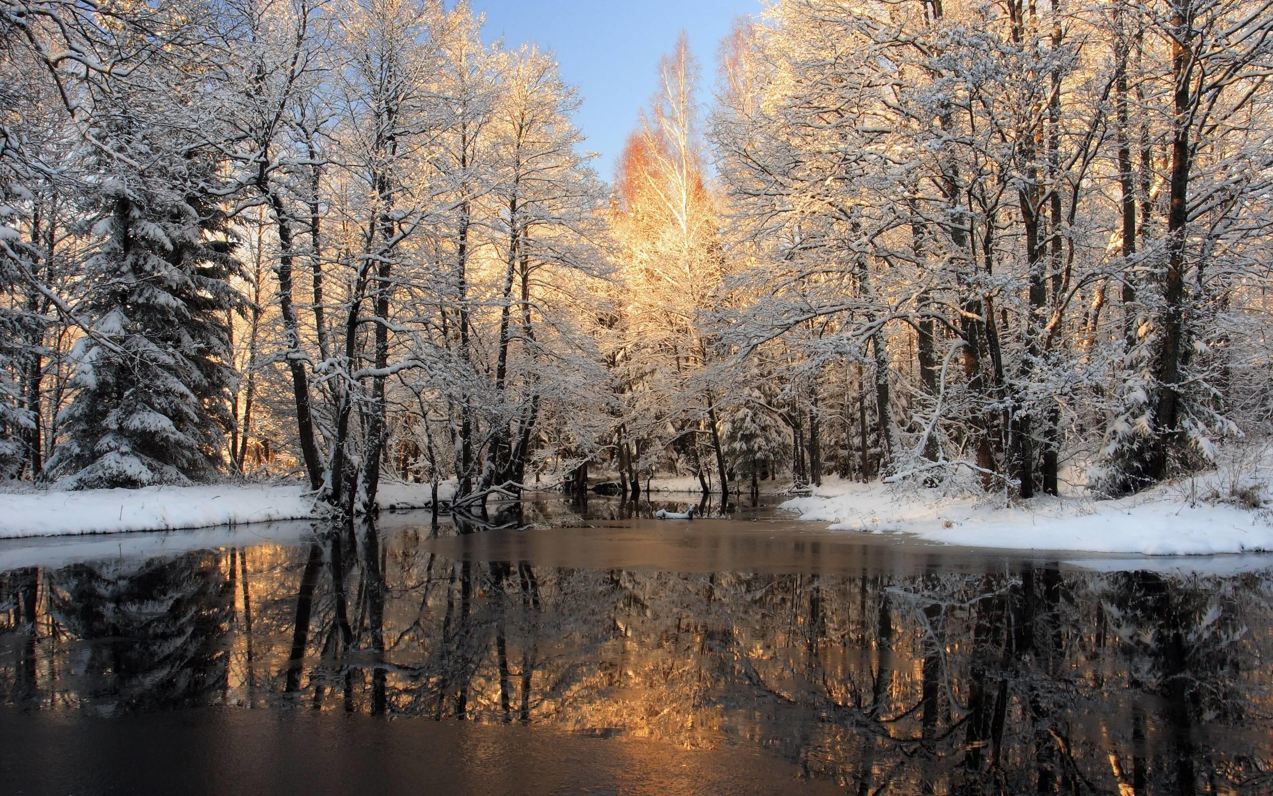 Winter Wallpaper Scenes 1