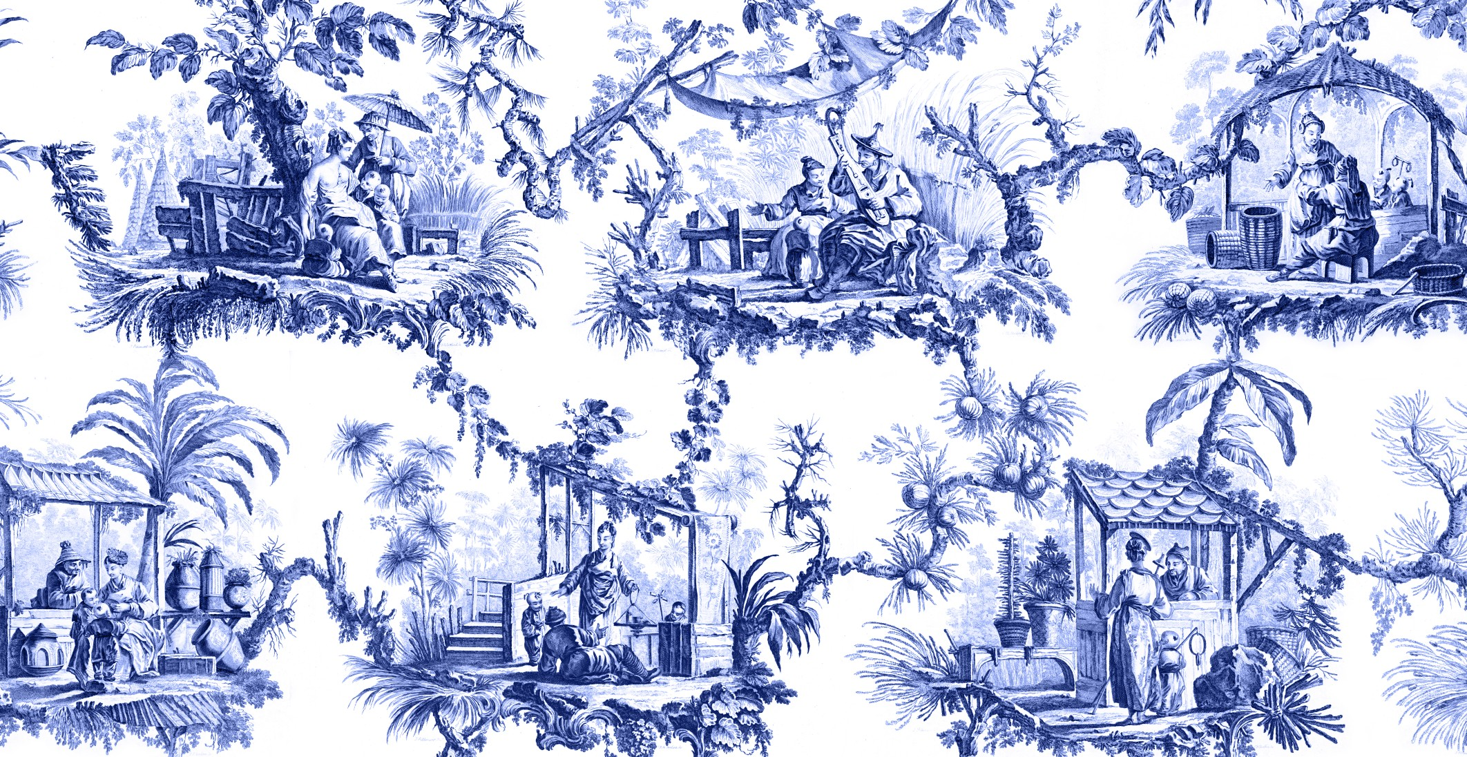 Chinoiserie wallpaper download free stunning full hd for Chinoiserie mural wallpaper