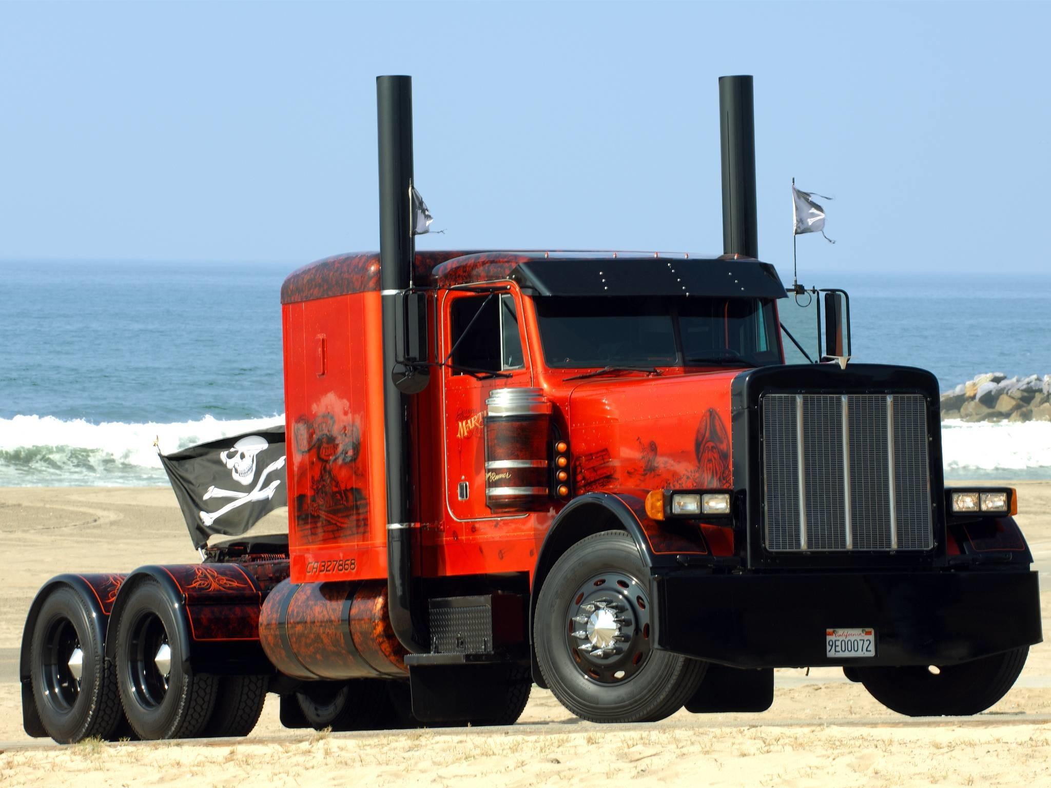 Big Truck Wallpaper