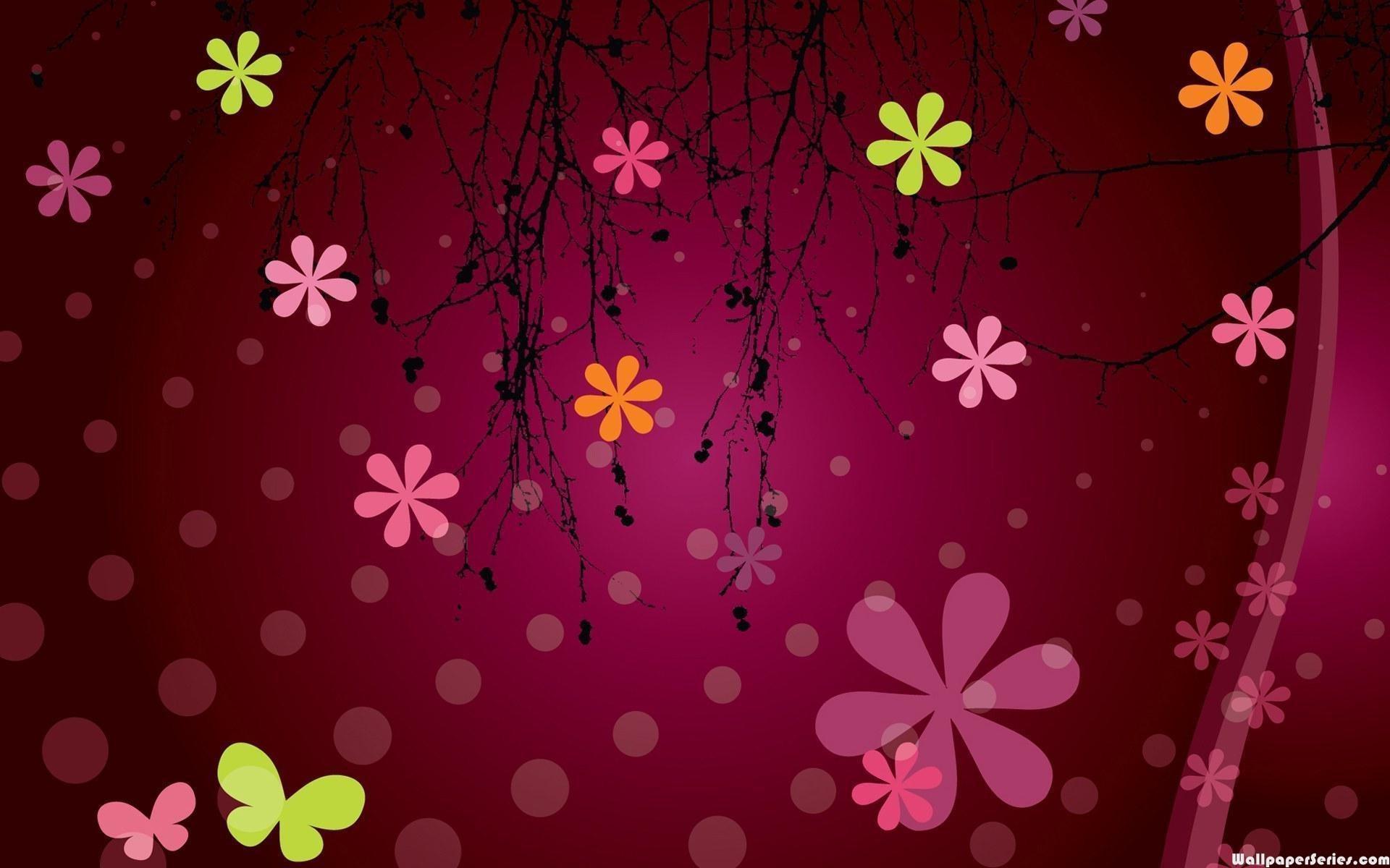 pink and black backgrounds for desktop ·①
