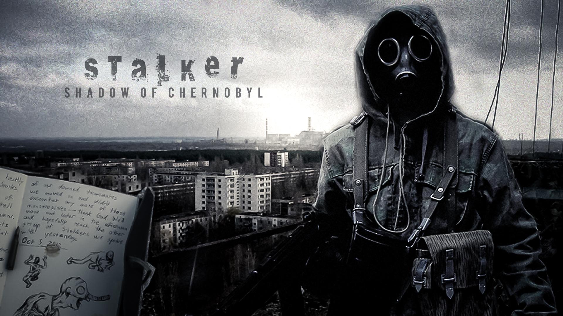 Stalker Shadow Of Chernobyl Wallpaper Wallpapertag