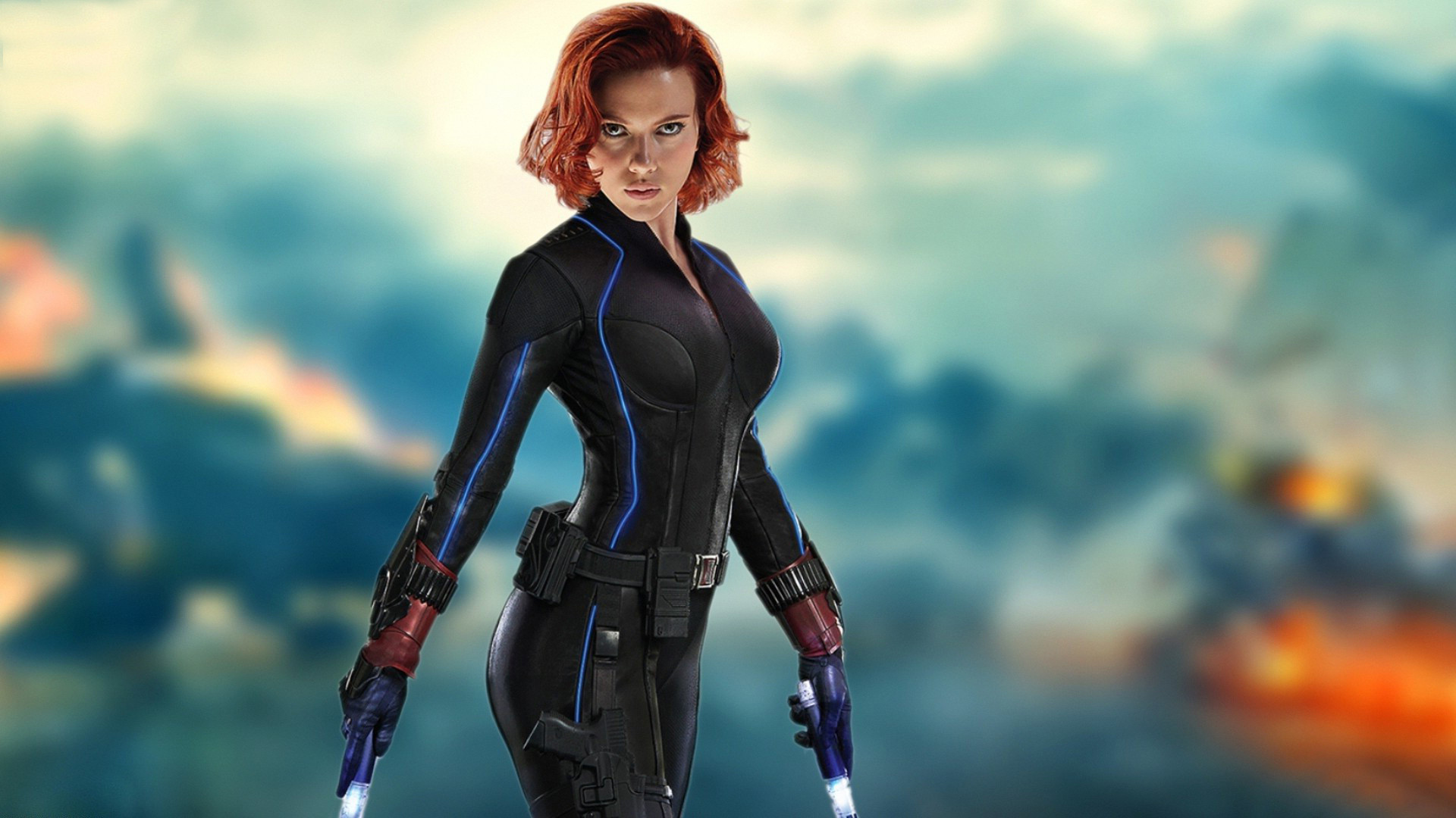 Scarlett Johansson Wallpaper: Scarlett Johansson Black Widow Wallpaper ·① WallpaperTag