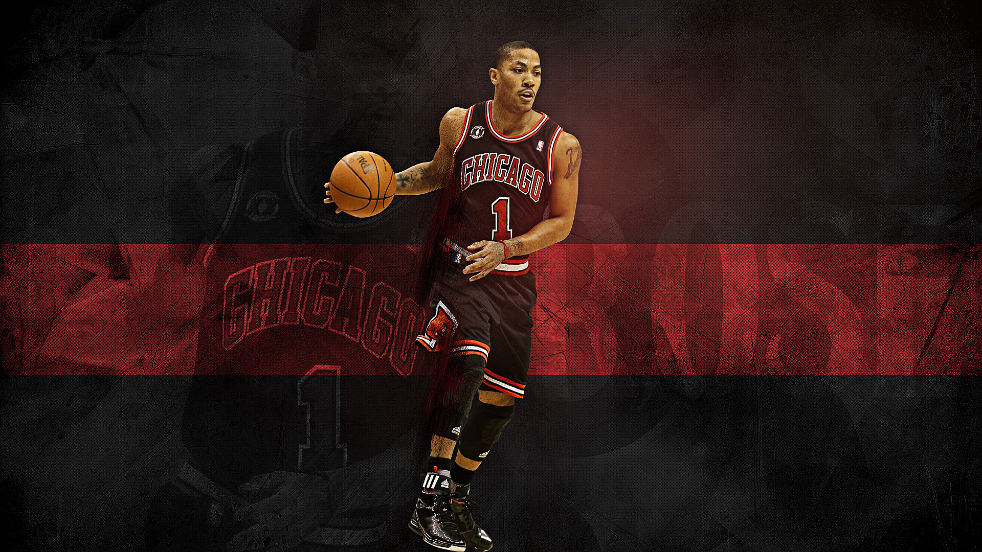 Derrick Rose Background 1