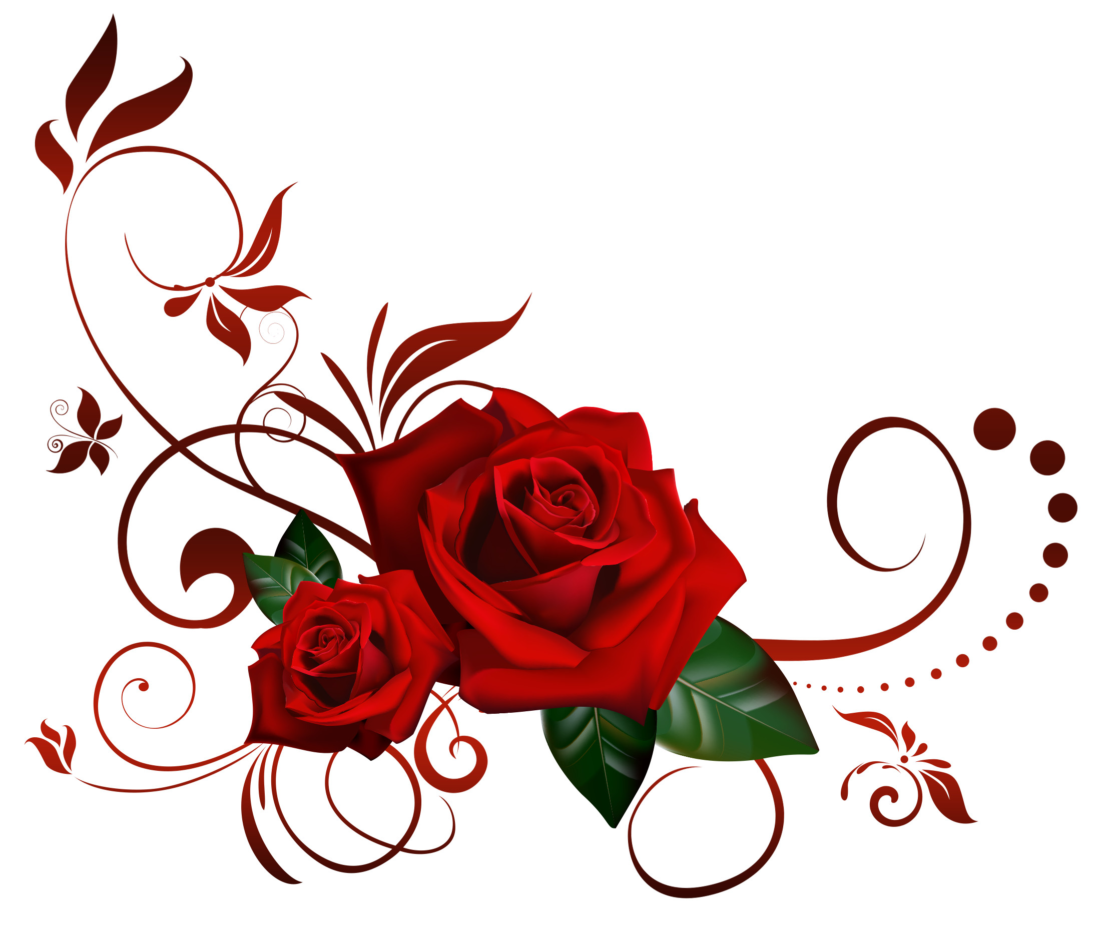 Red Rose Flower Background Wallpapertag