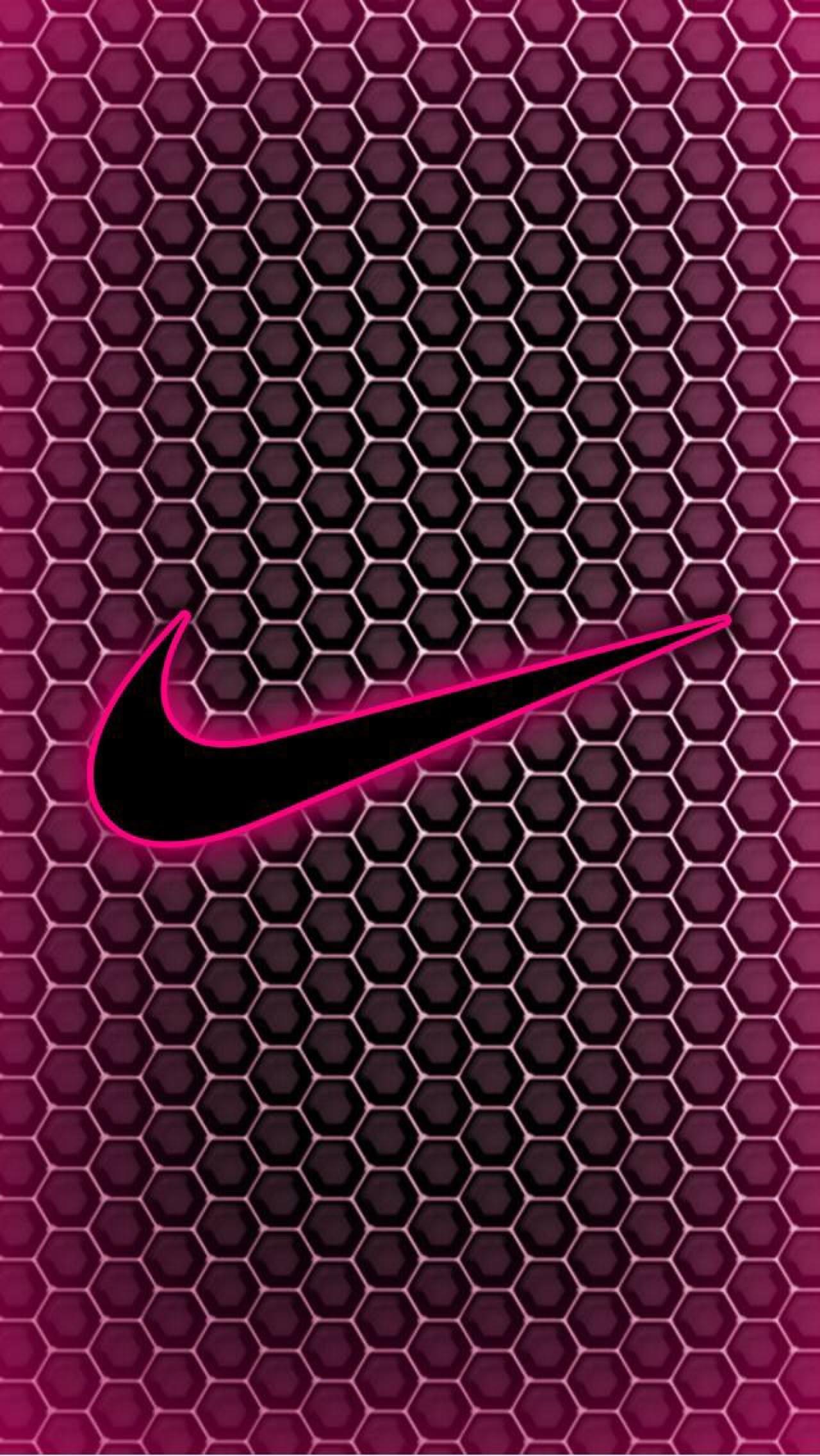 Pink Nike Wallpaper