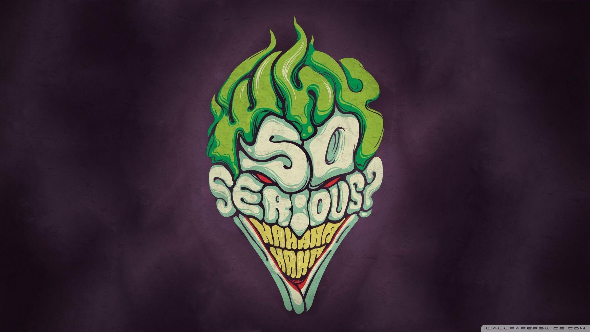 Joker Why So Serious Wallpaper Wallpapertag
