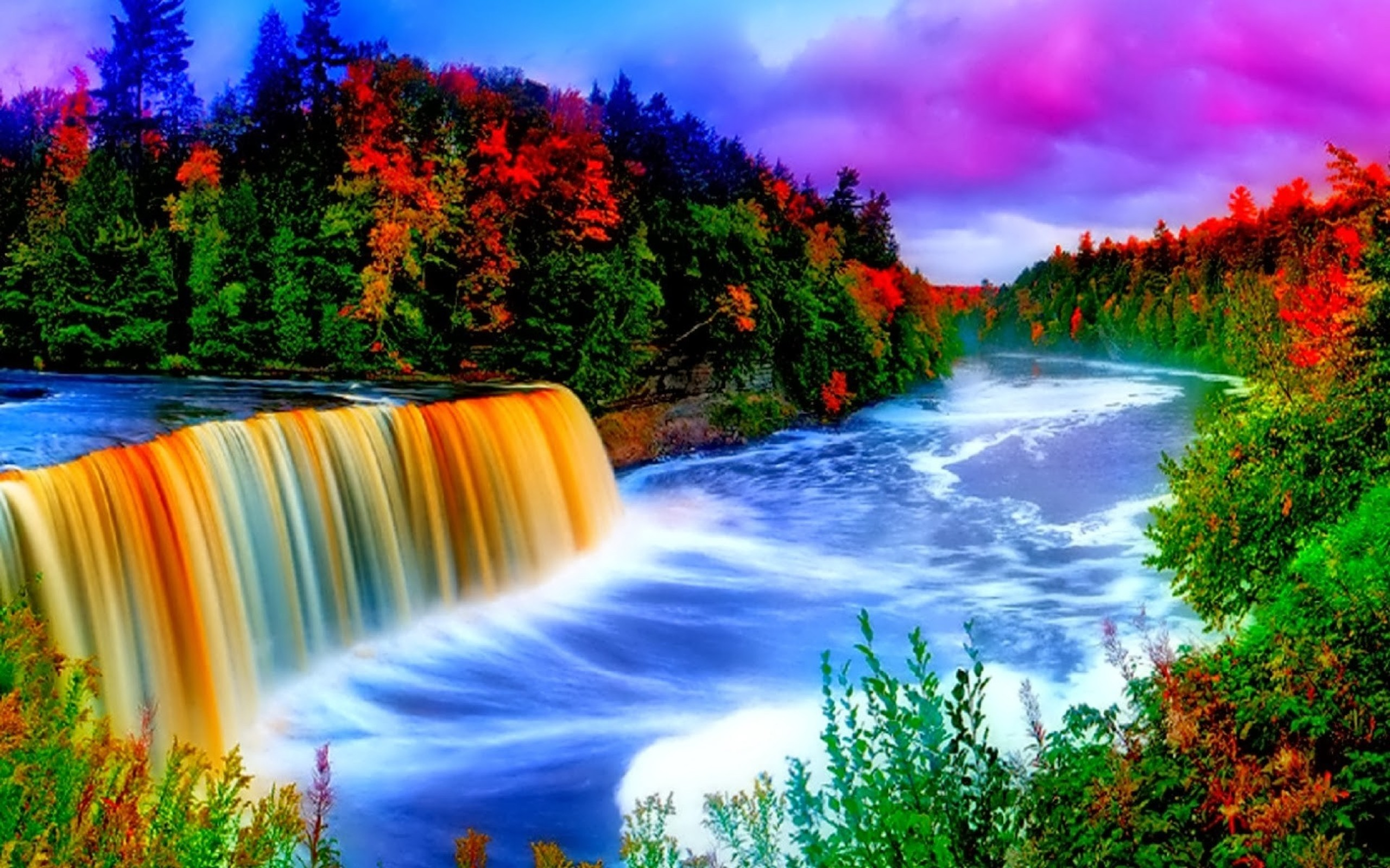 Waterfall background ·① Download free High Resolution ...