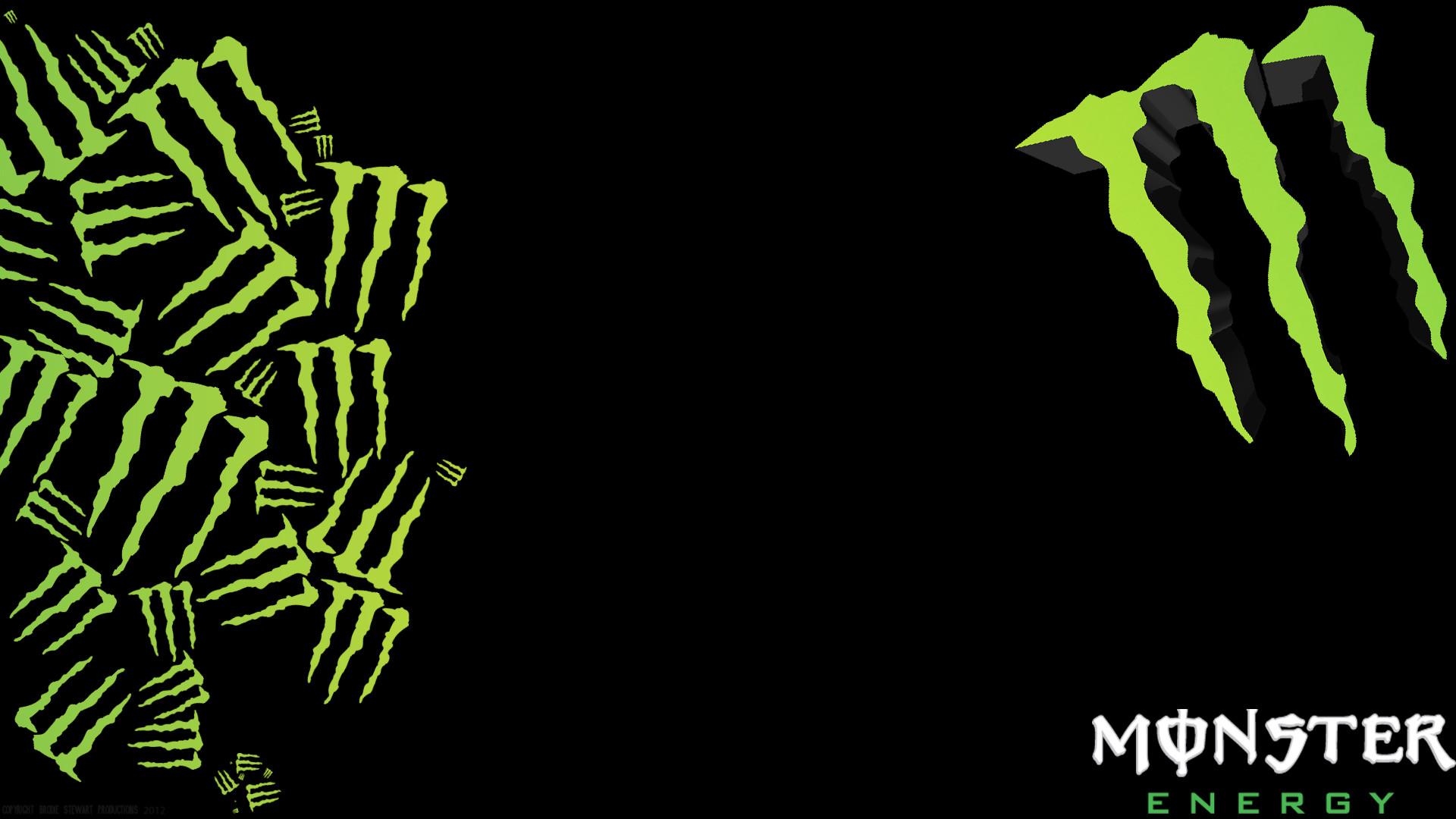 Monster logo wallpaper monster voltagebd Images