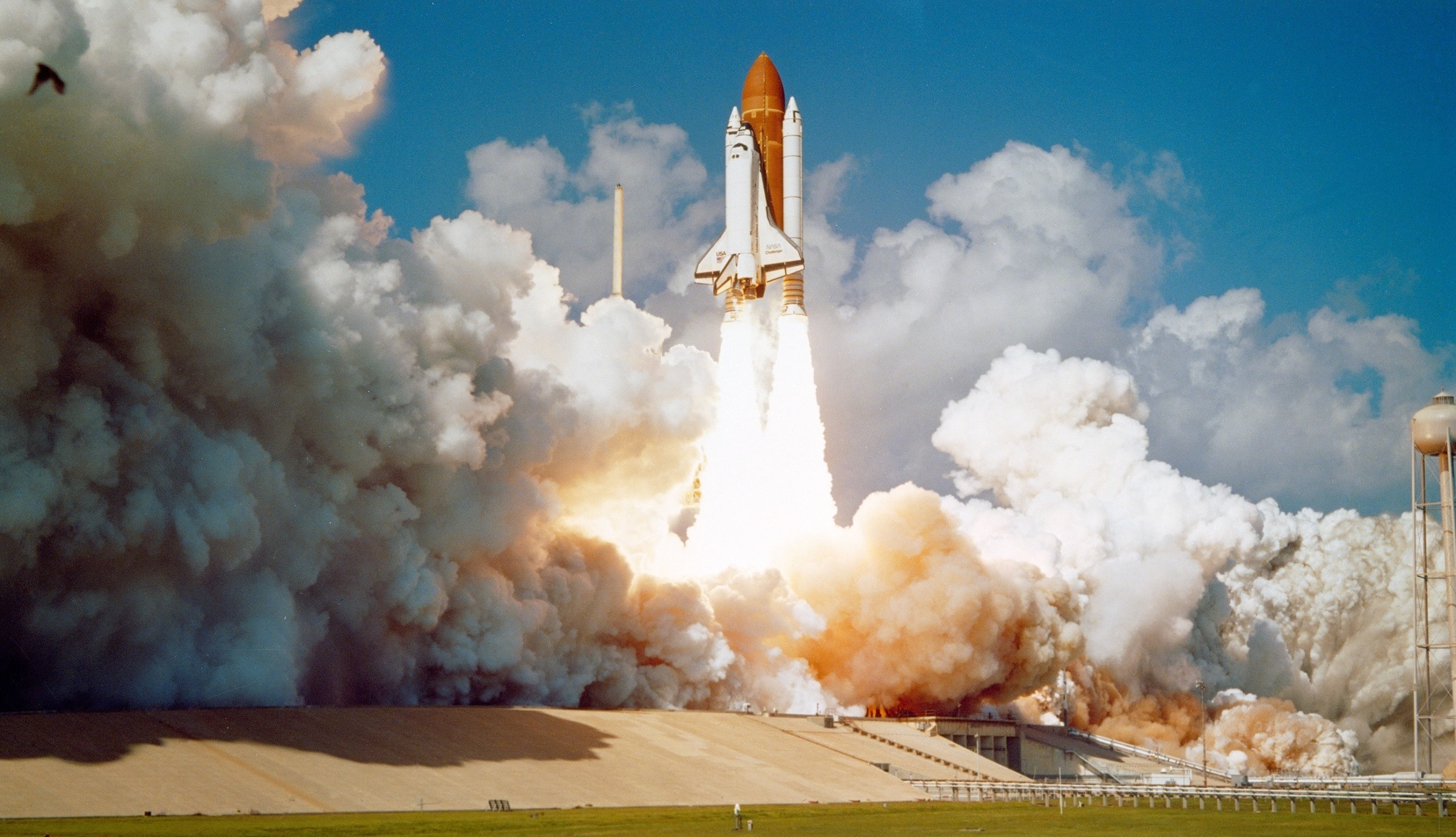 Space Shuttle Launch Wallpaper 1