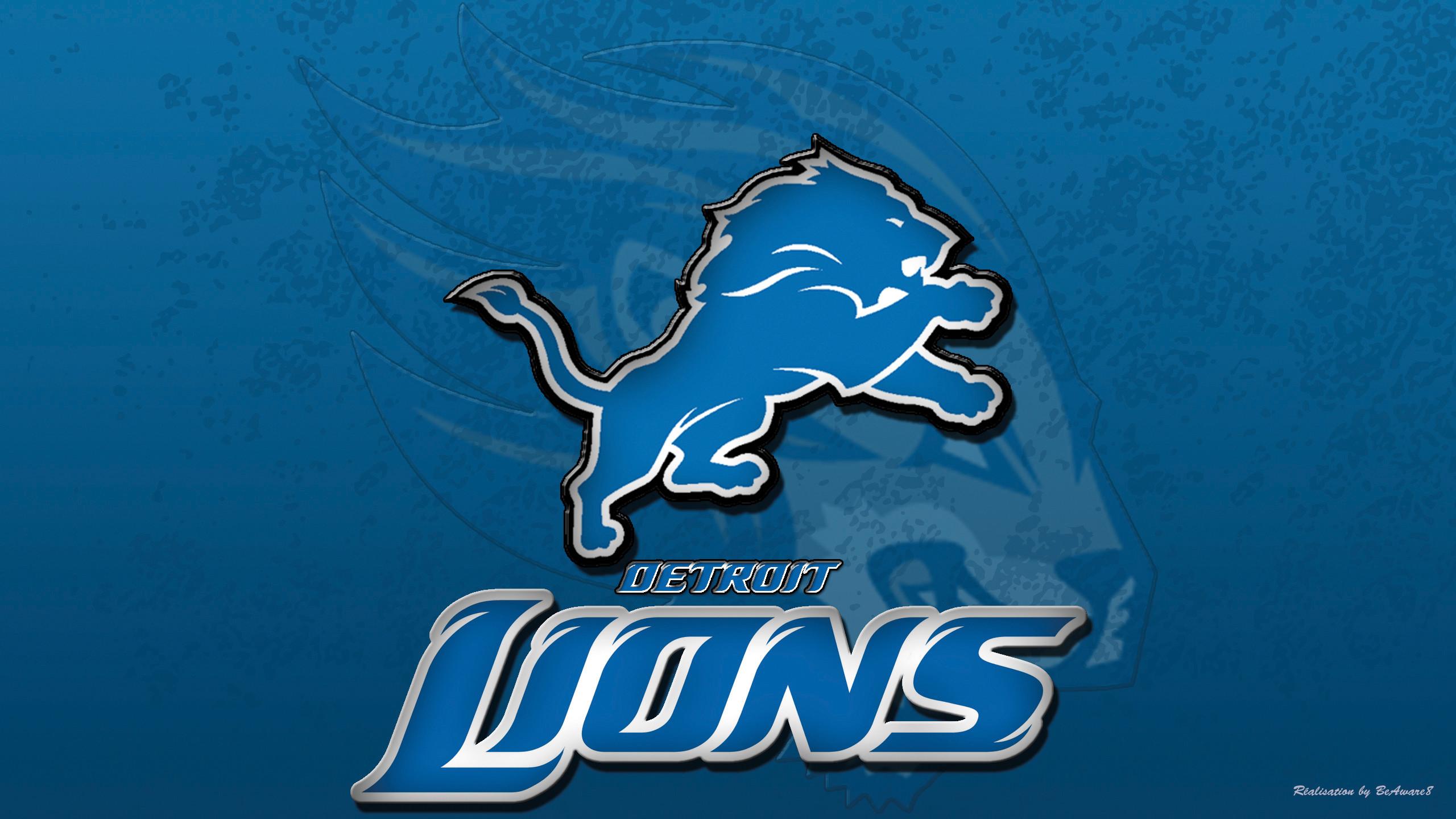 Detroit Lions New Logo Wallpaper