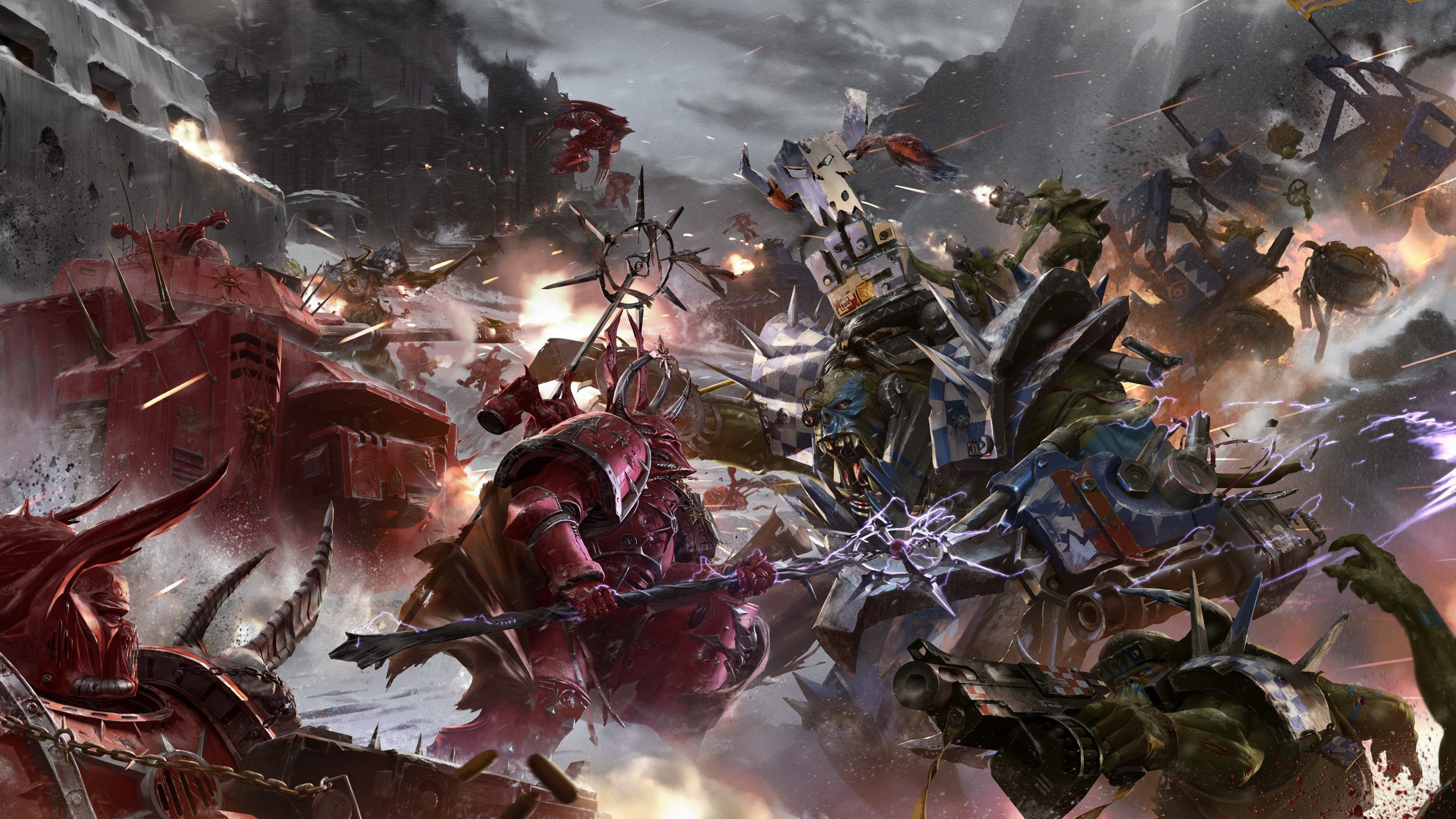 Chaos Space Marines Wallpaper ·①