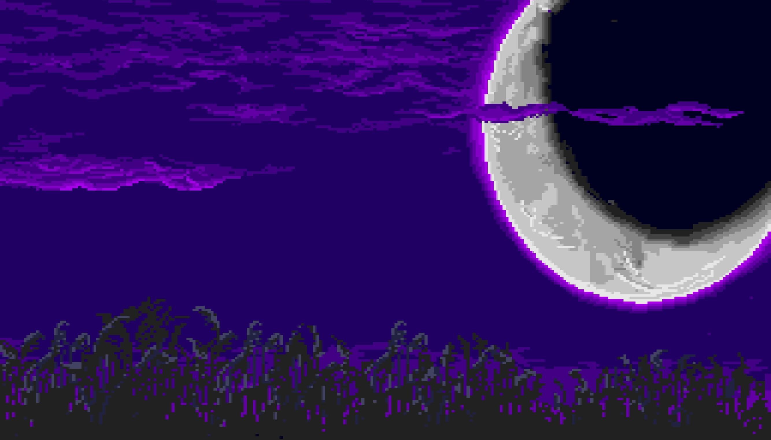 Purple Pixel Background Tumblr