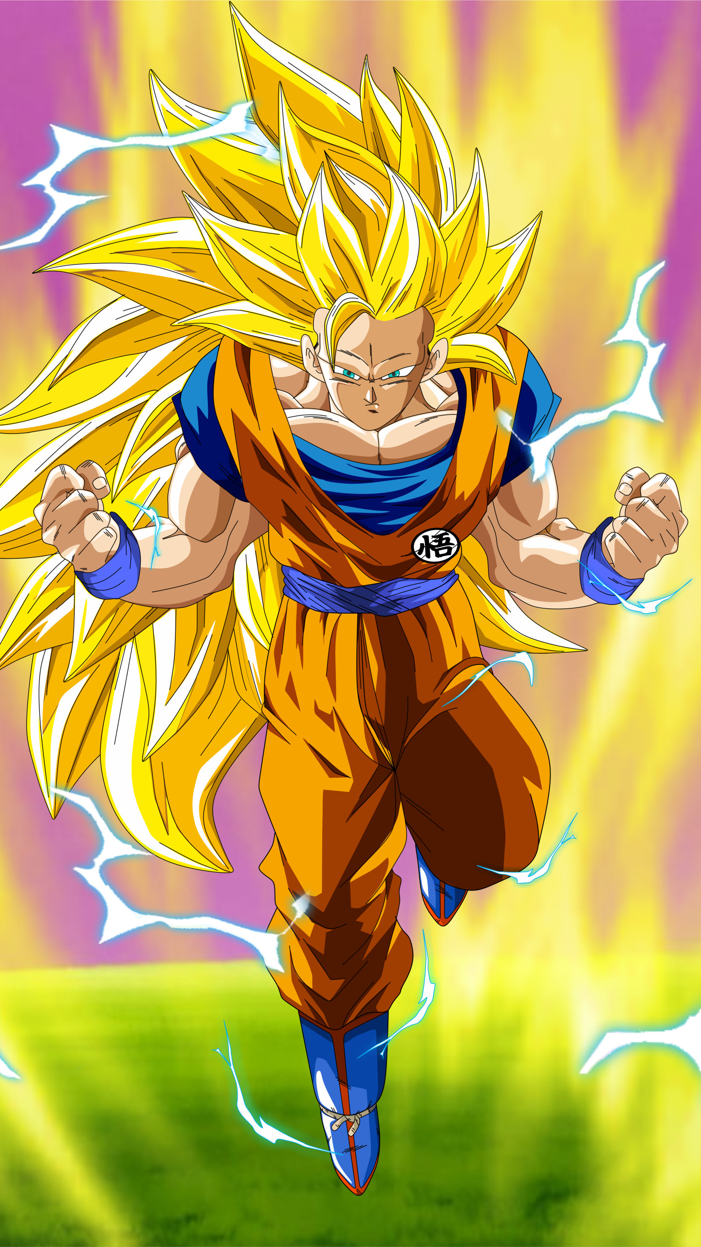 Goku super saiyan 3 wallpapers wallpapertag - Goku 5 super saiyan ...