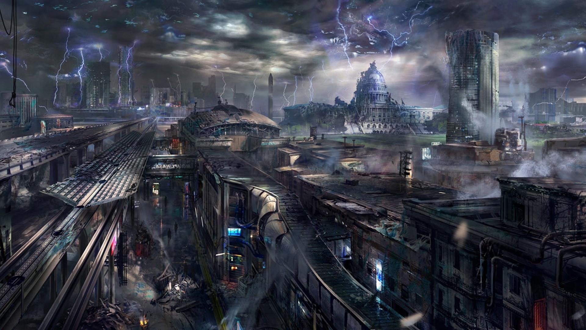 Sci Fi Desktop Backgrounds ·① WallpaperTag