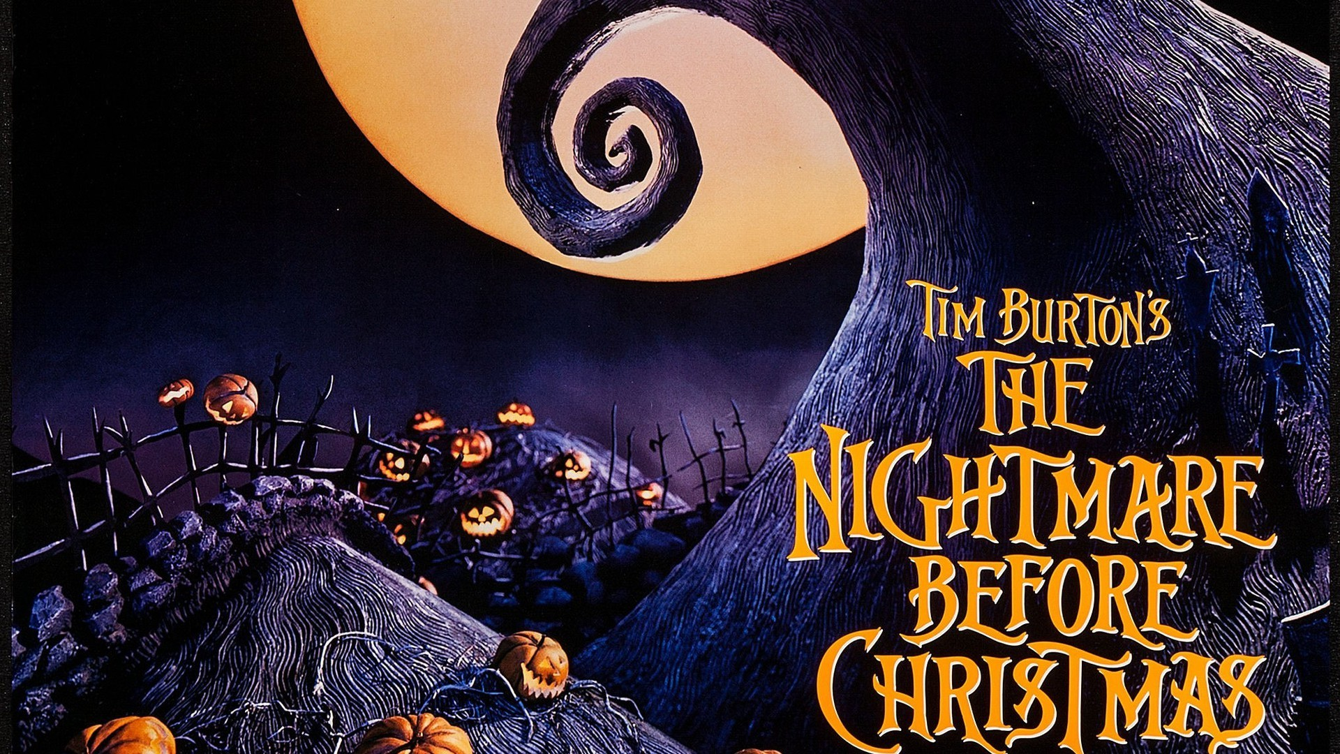Nightmare Before Christmas background ·① Download free awesome full ...