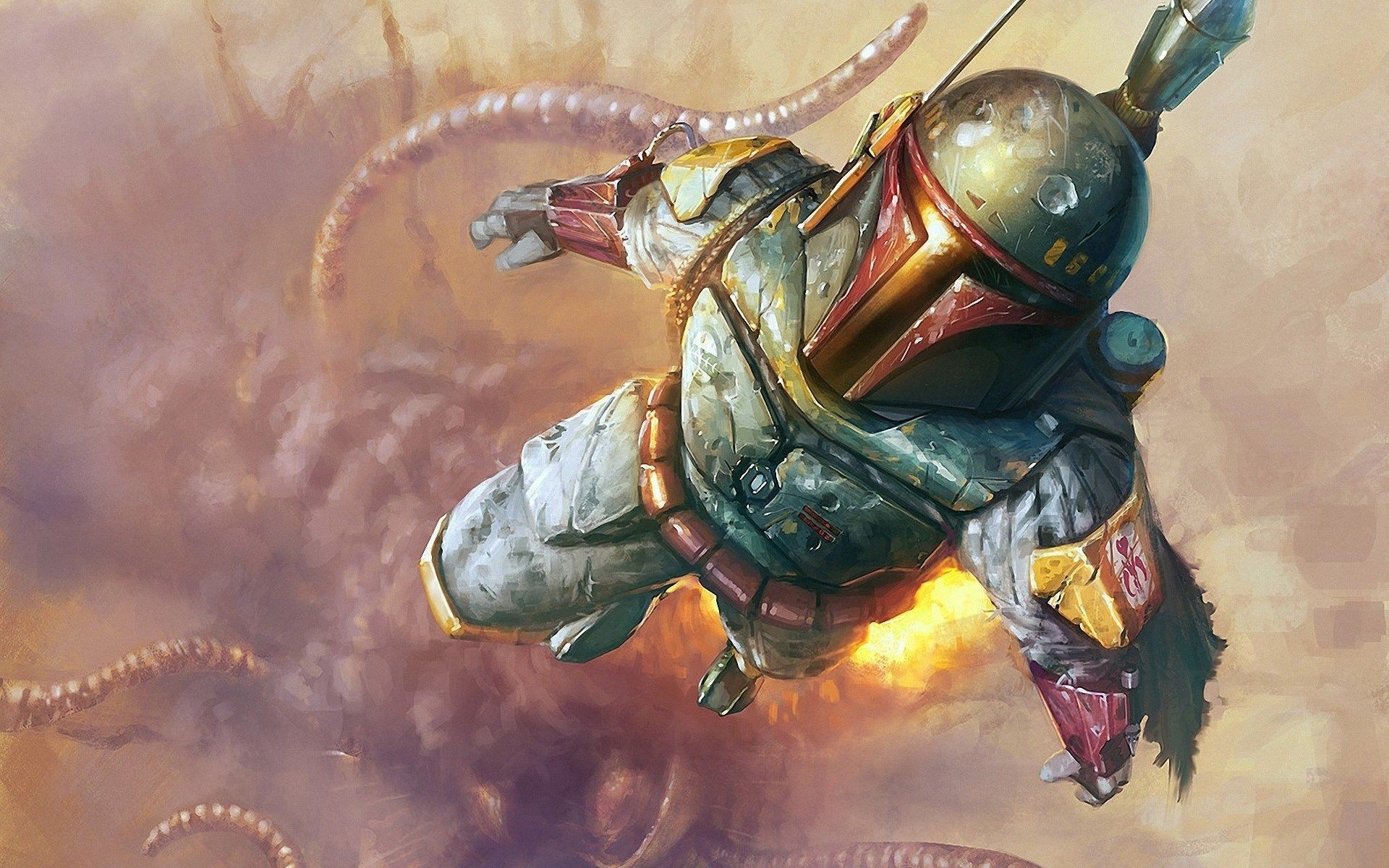Star Wars Boba Fett Wallpaper 1