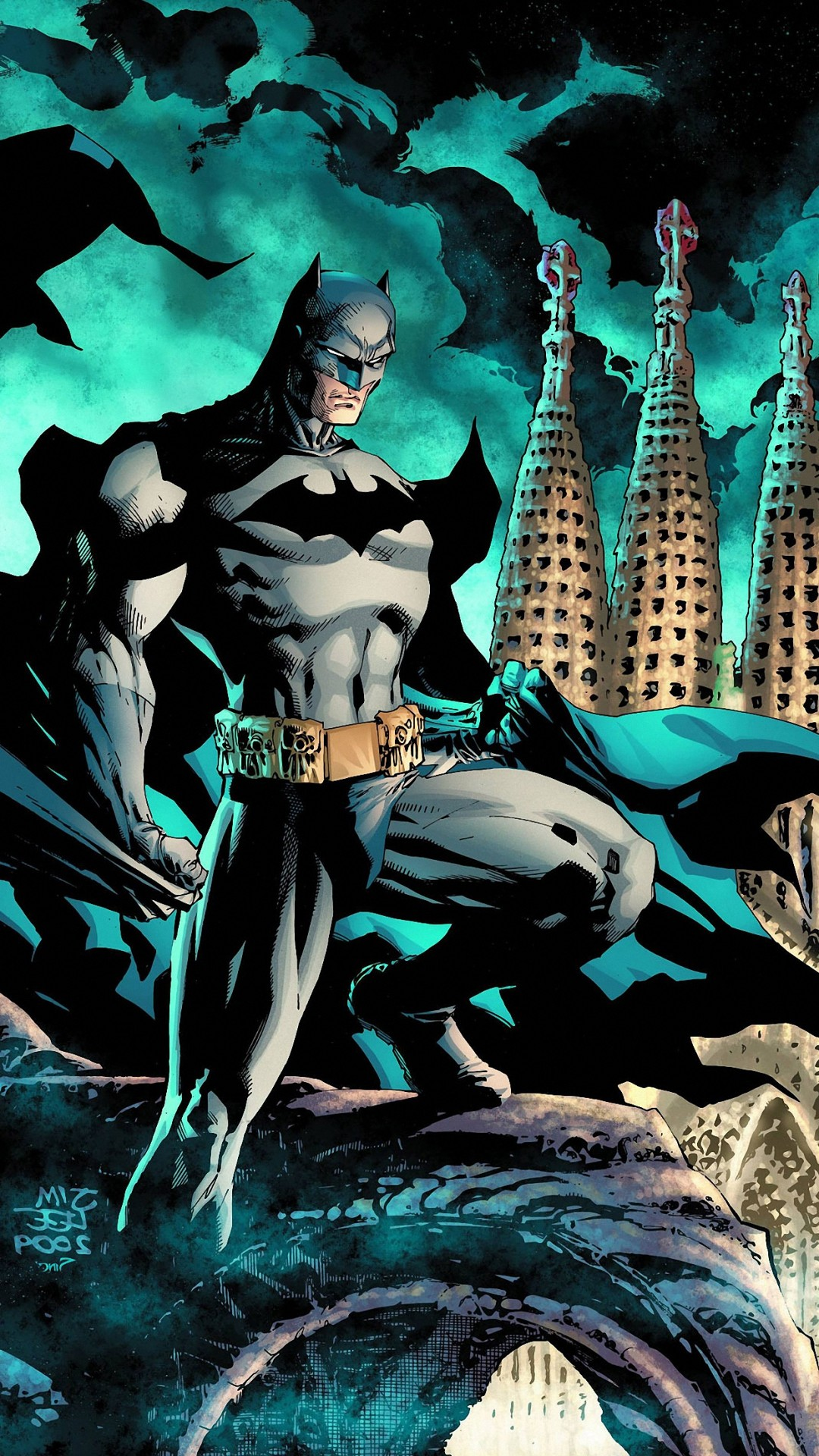 Batman Cartoon Wallpaper ·① Batman Comic Cover Wallpaper