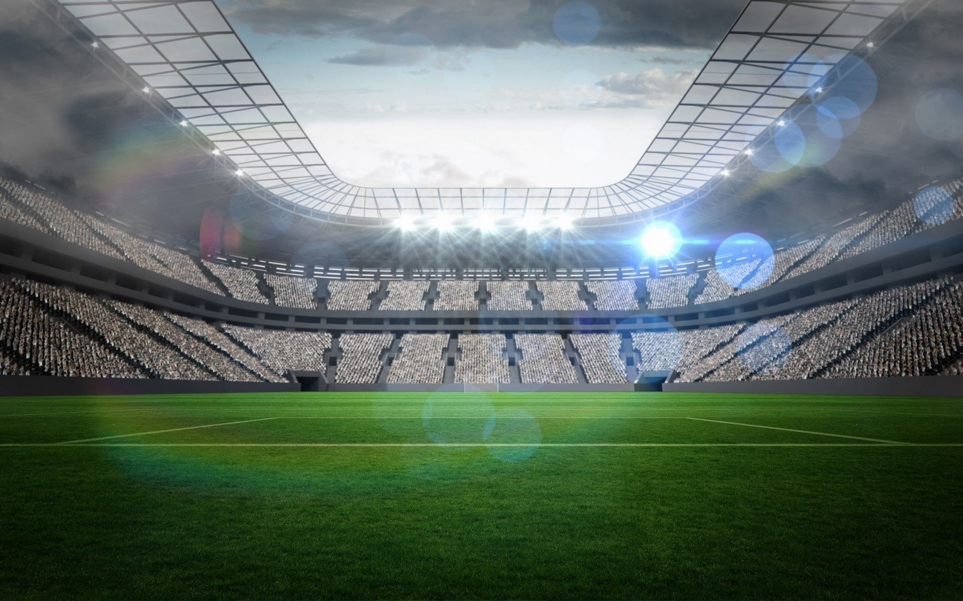 Football Stadium Wallpaper 1