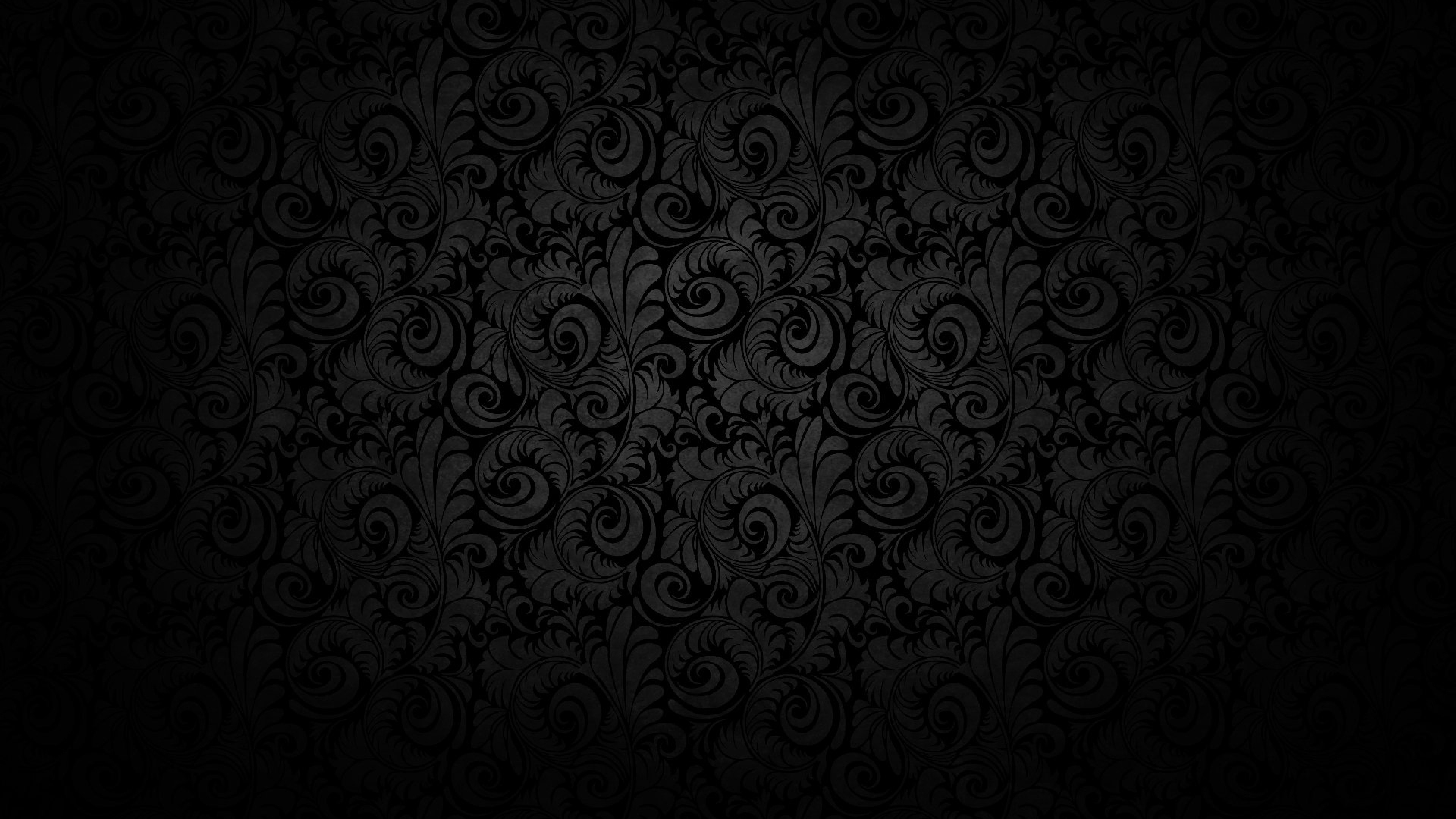 black hd wallpaper 4k