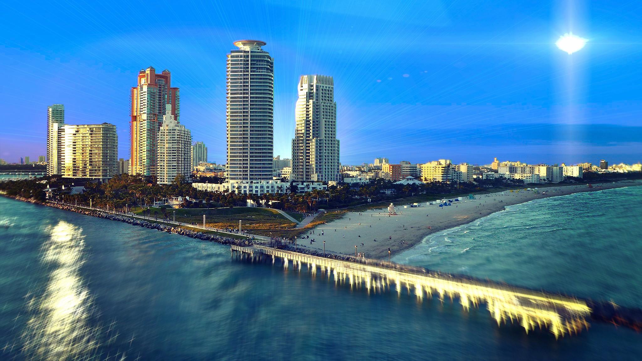 Майами США страны архитектура пляж  № 2229492 бесплатно