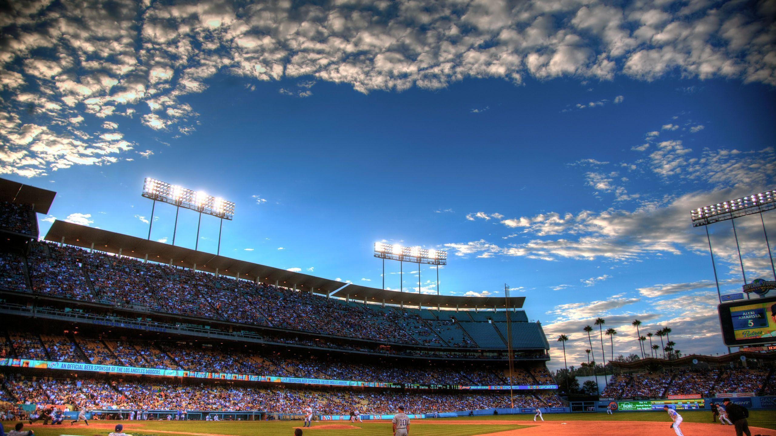 Dodgers Stadium Wallpaper Wallpapertag
