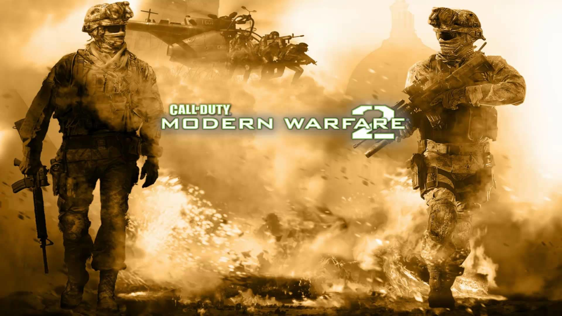 Call Of Duty Modern Warfare 2 Wallpapers Wallpapertag