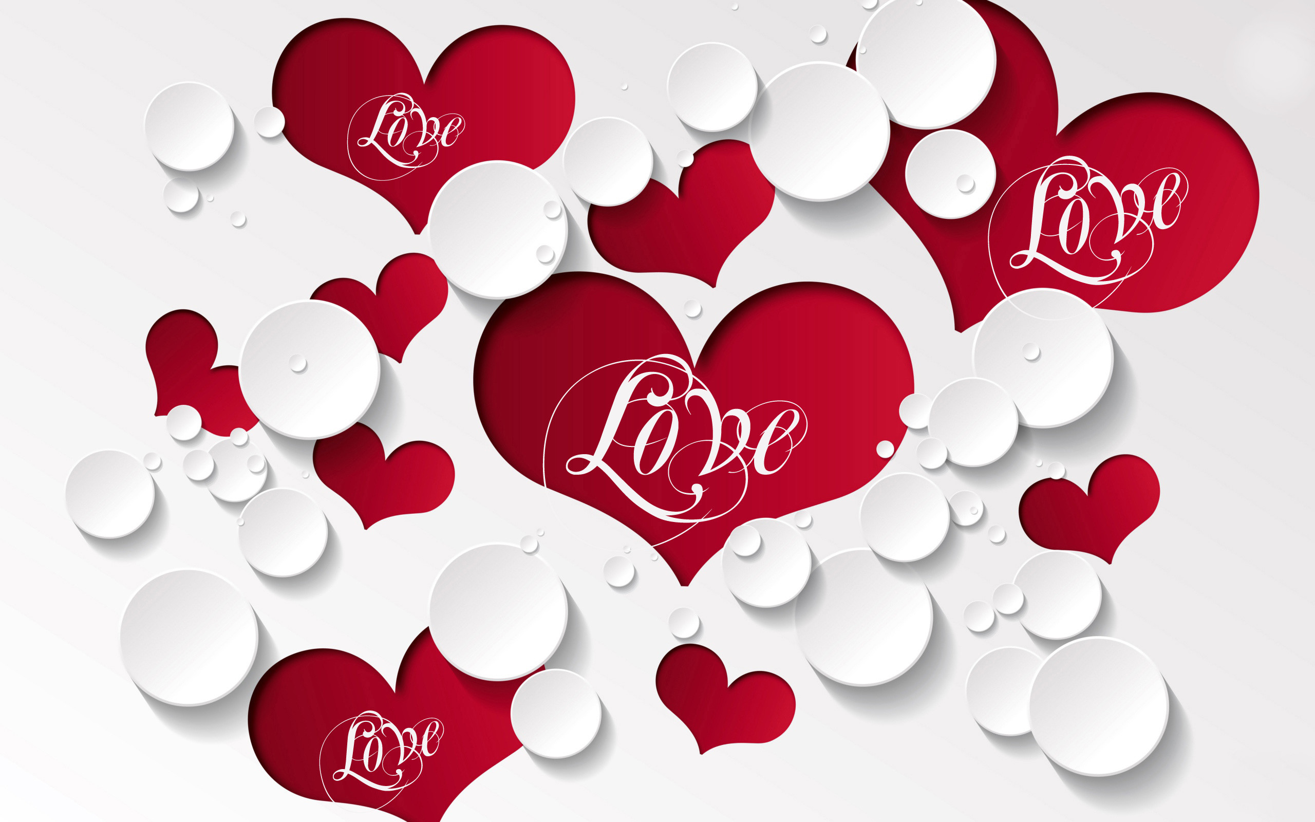wallpaper of love heart ·①