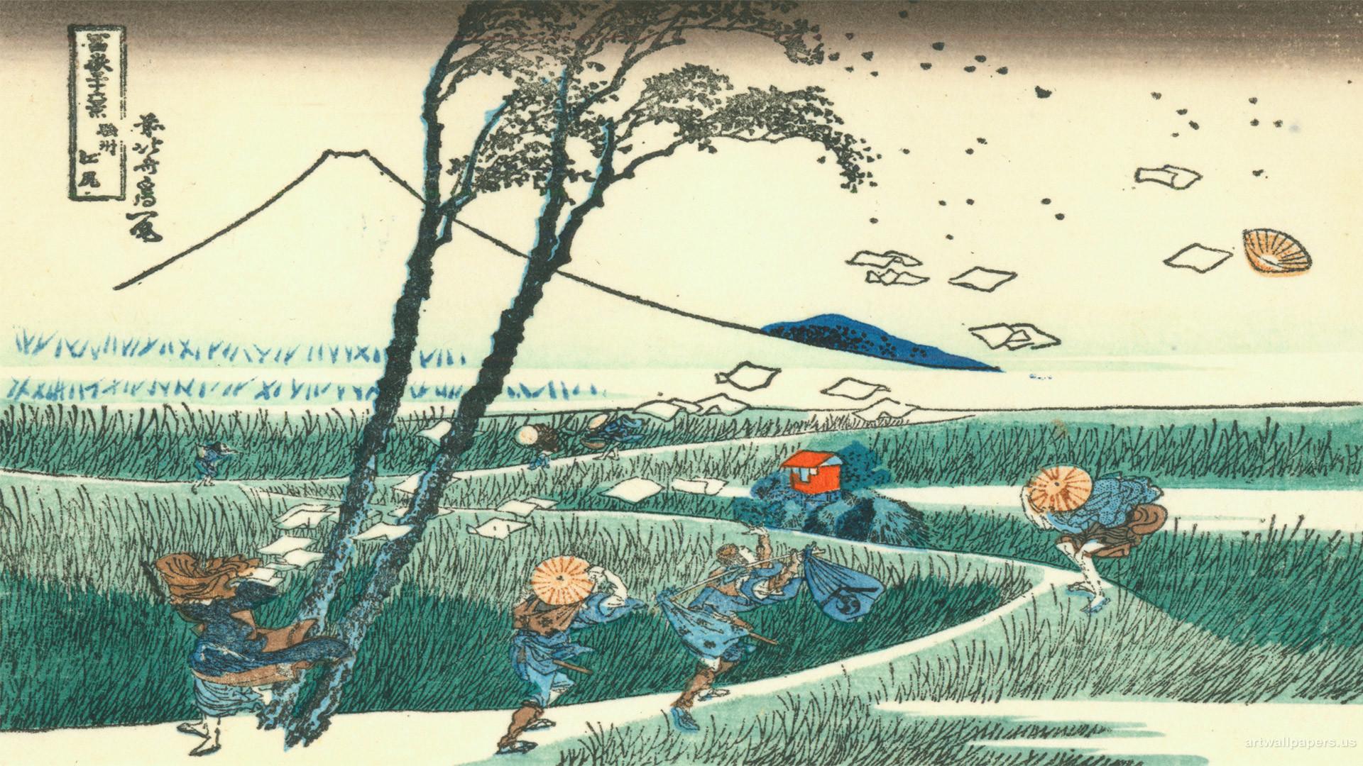 The Great Wave Off Kanagawa Wallpaper Wallpapertag