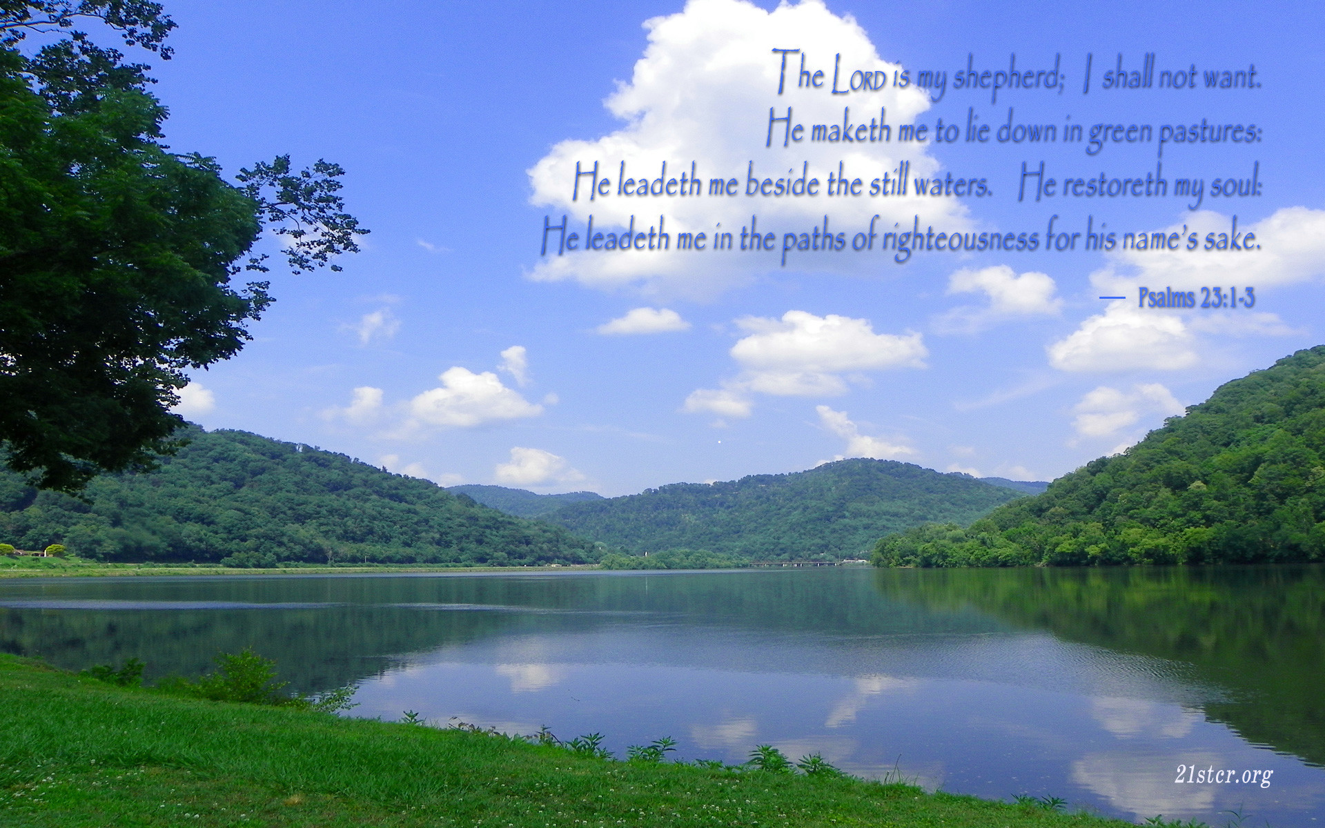 Psalm 23 Wallpaper Wallpapertag