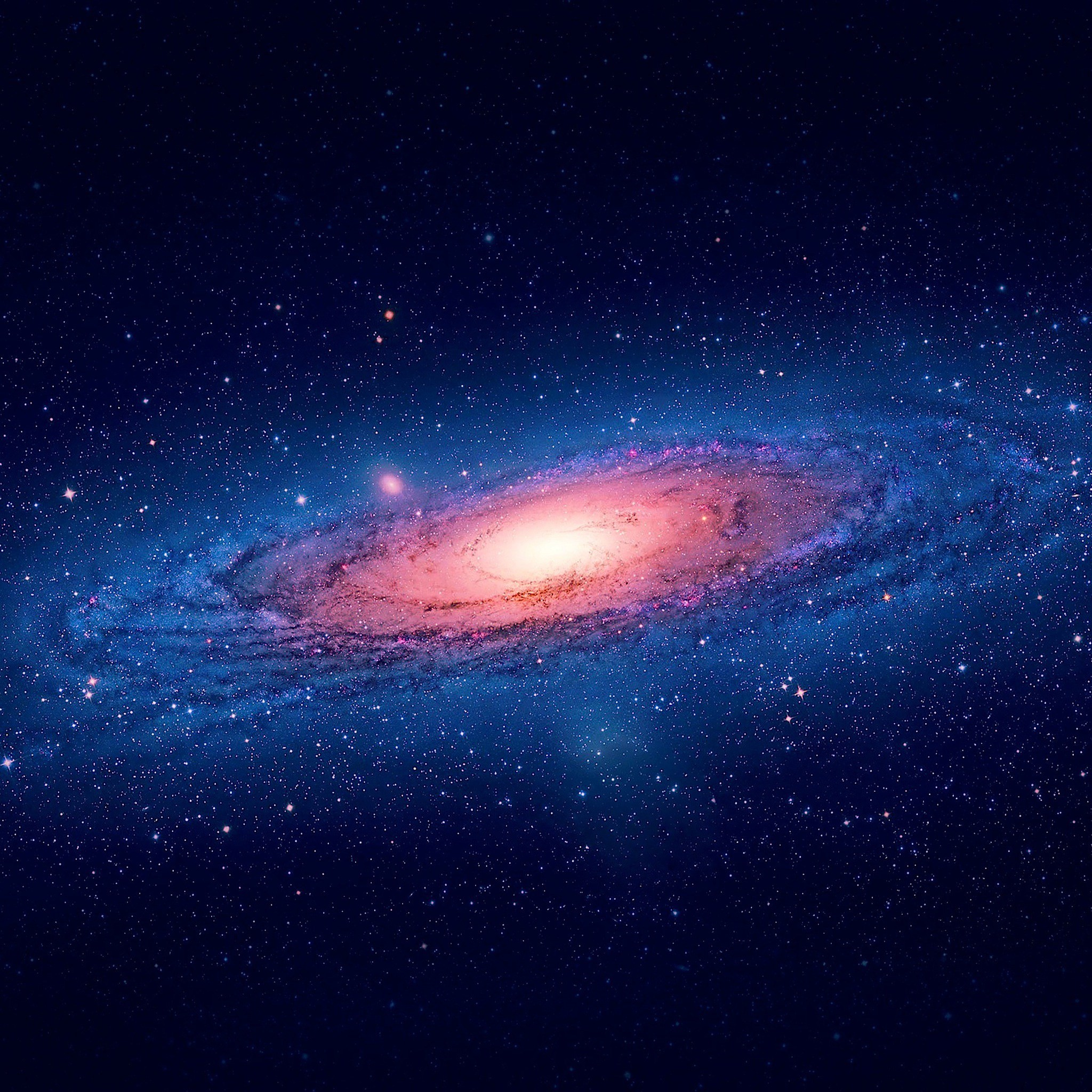 andromeda galaxy distance from earth - HD 2048×2048