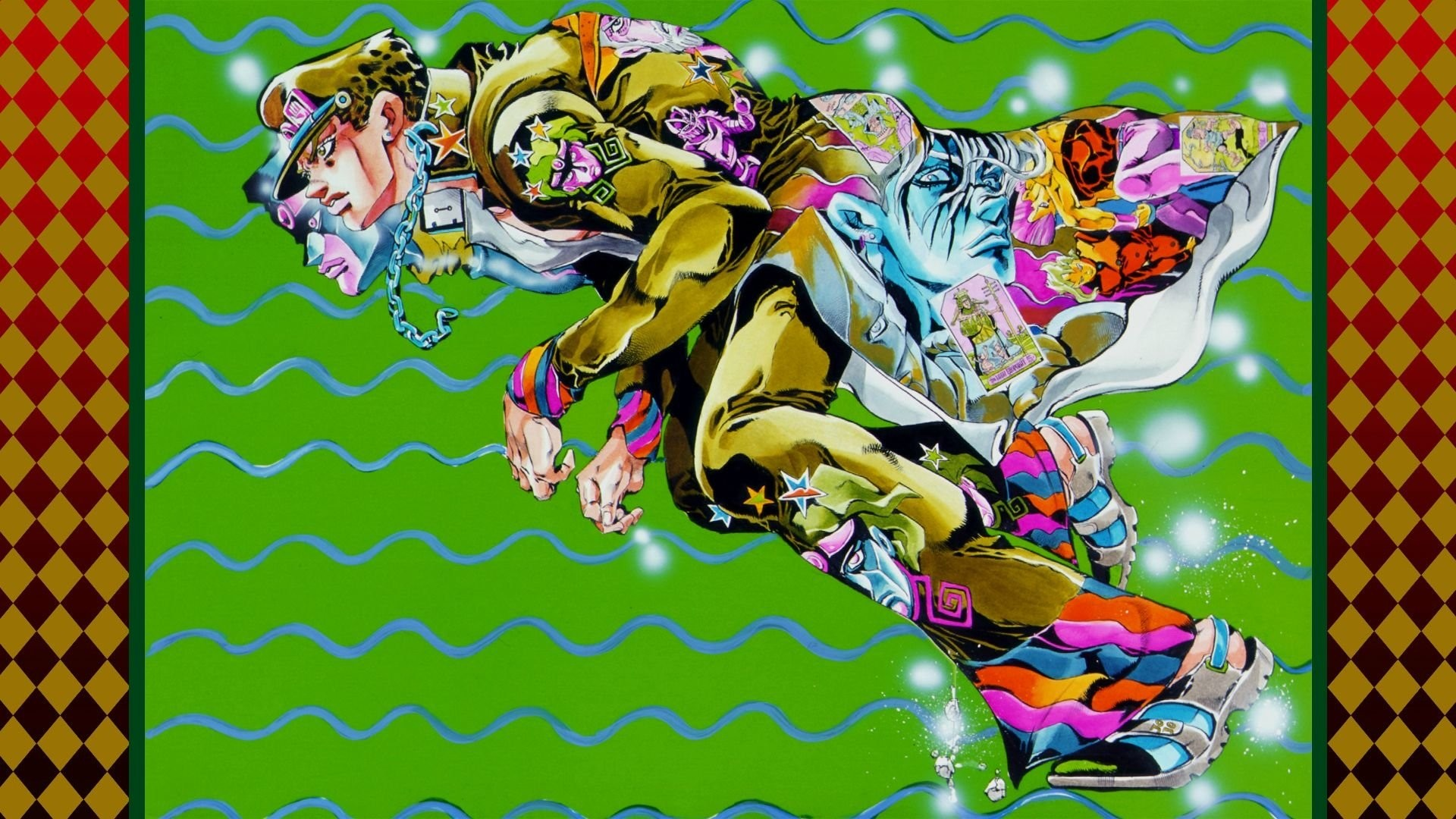 Jojo Bizarre Adventure Hd Wallpaper Wallpapertag