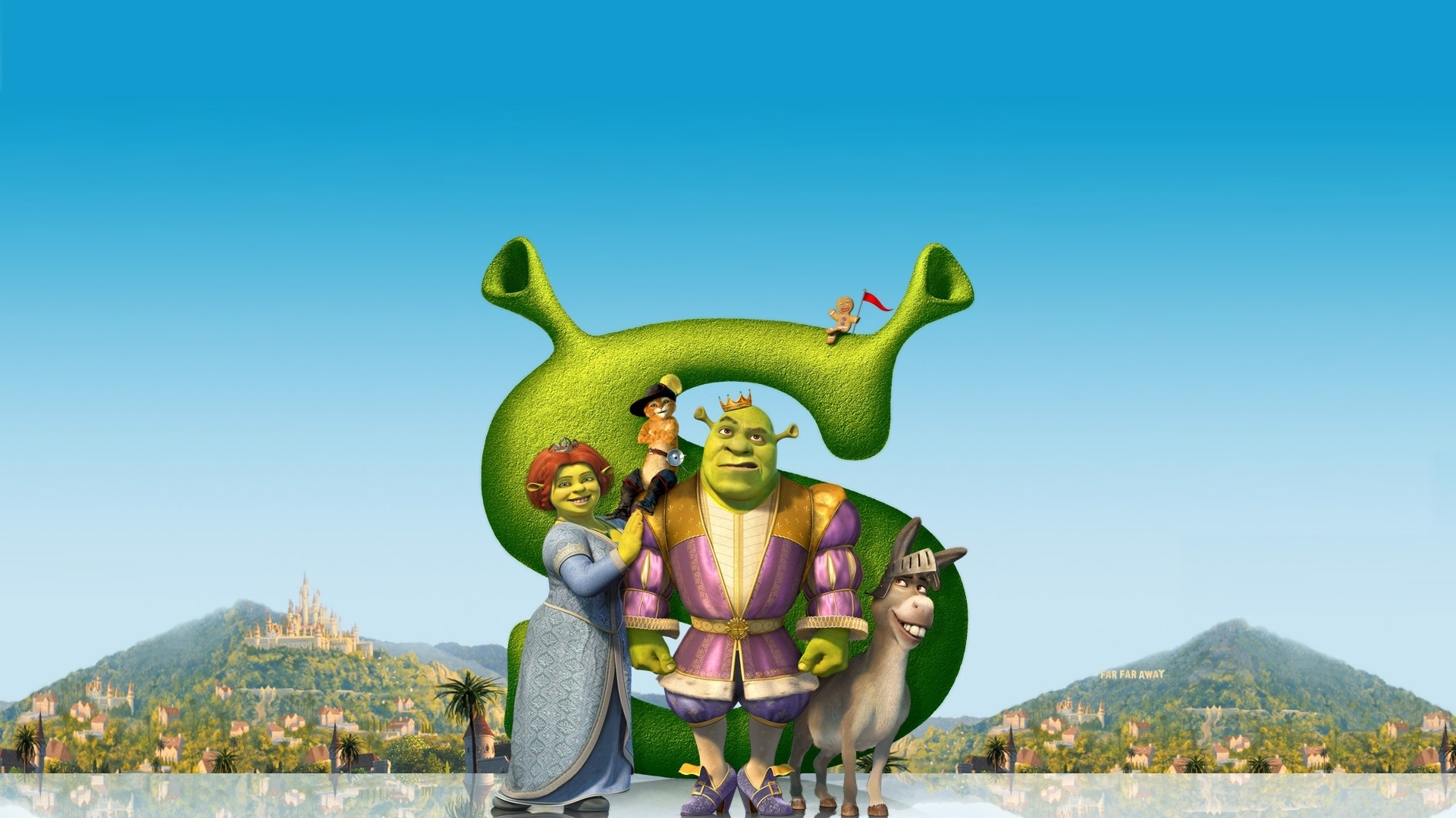 Shrek 2 Cartoon Characters : Shrek wallpaper ·①