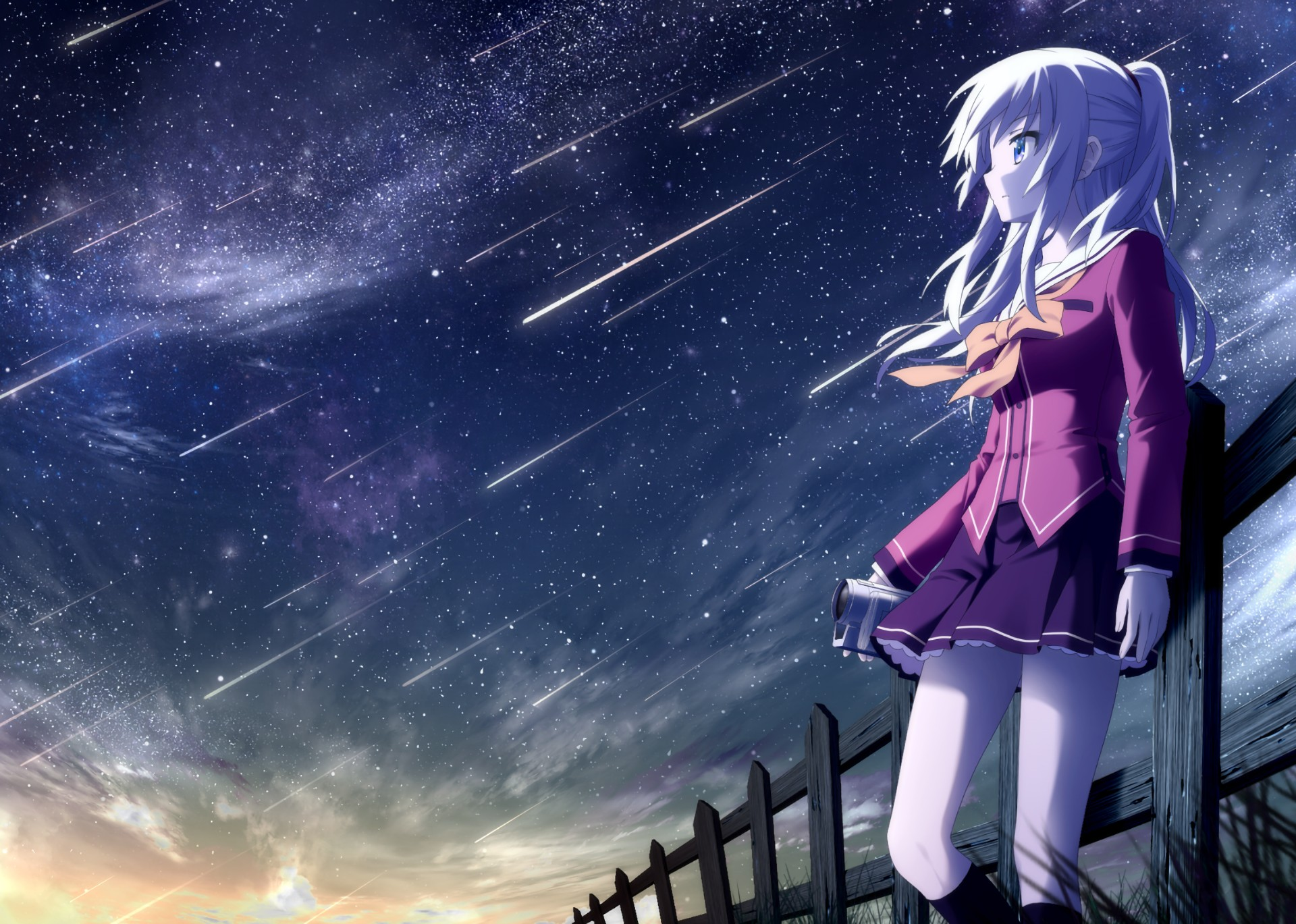 1920x1080 HD Wallpaper | Background ID:683505. 1920x1080 Anime Charlotte. 37 Like
