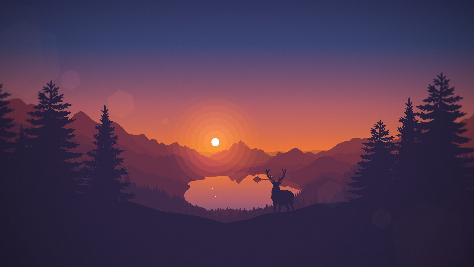 Deer wallpaper download free amazing wallpapers for - 2d nature wallpapers ...